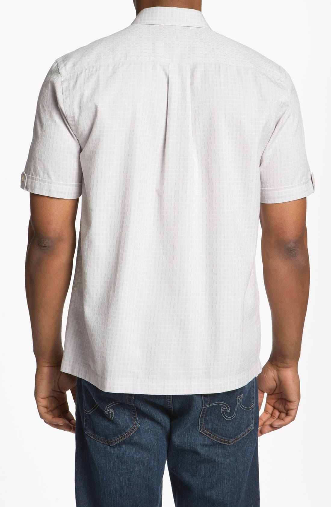 Alternate Image 2  - Tommy Bahama 'Sound Wave' Silk Blend Campshirt