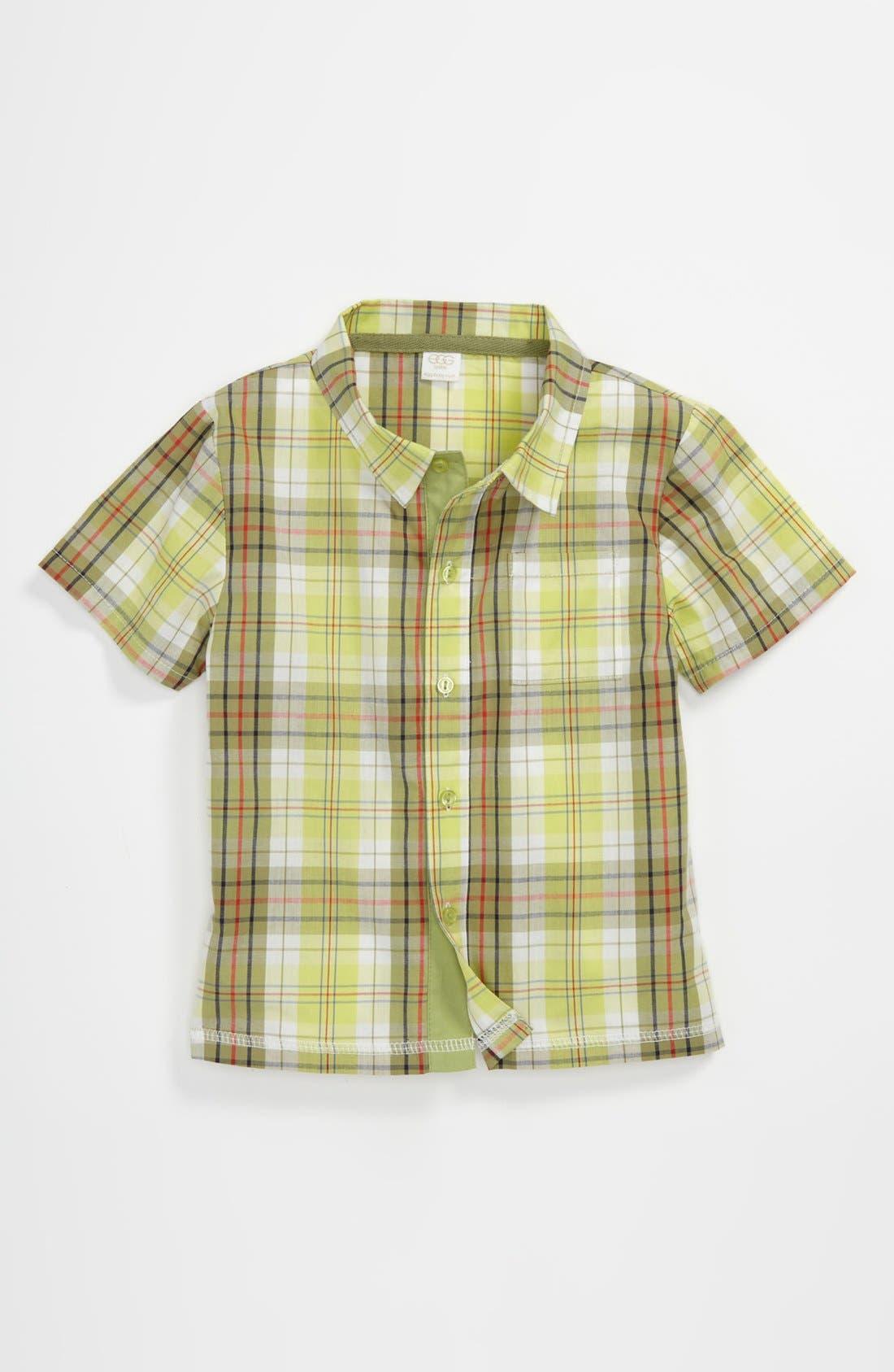 Alternate Image 1 Selected - egg by susan lazar Woven Shirt (Toddler)