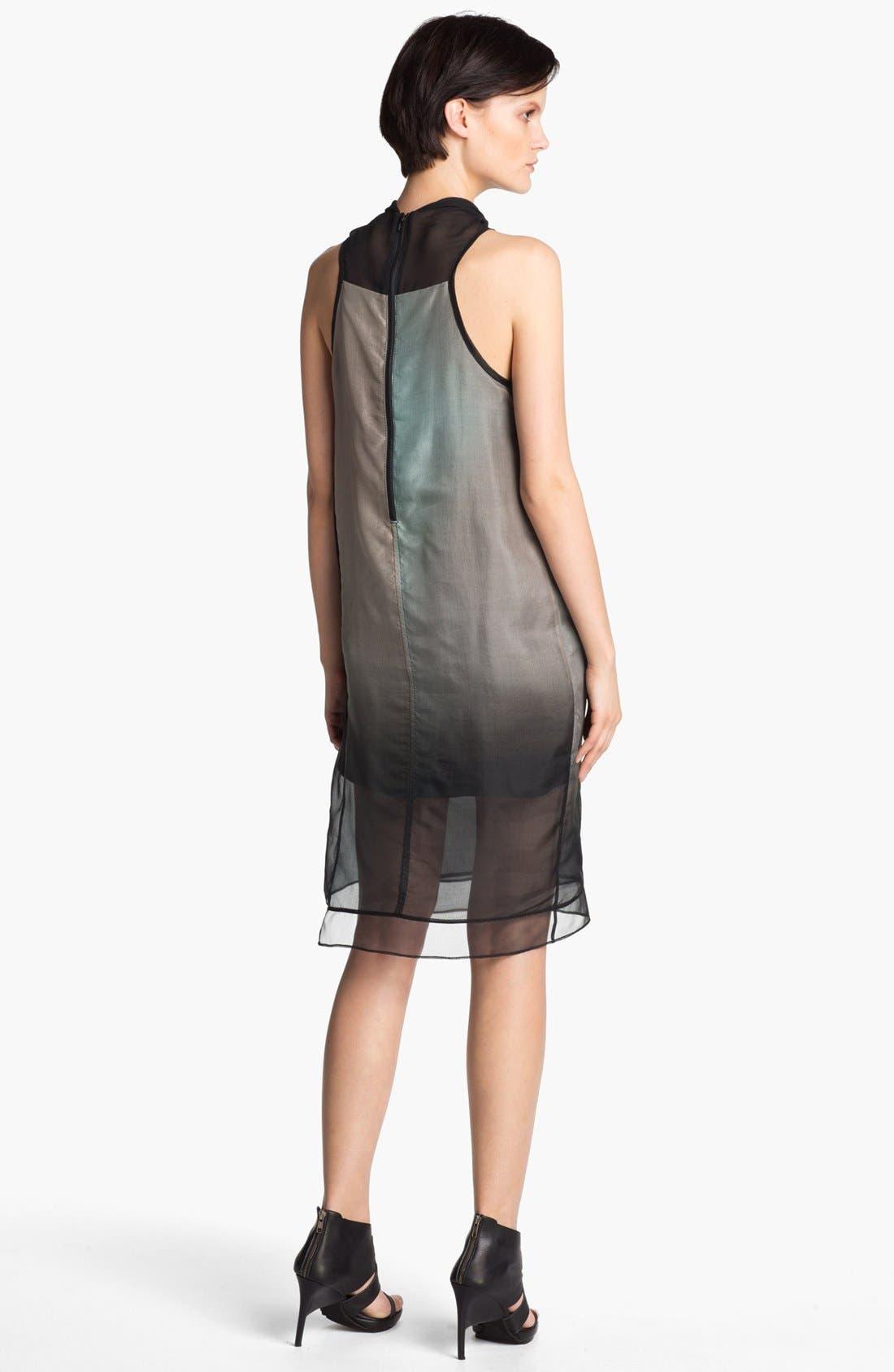 Alternate Image 2  - Helmut Lang 'Mercury' Ombré Organza Dress