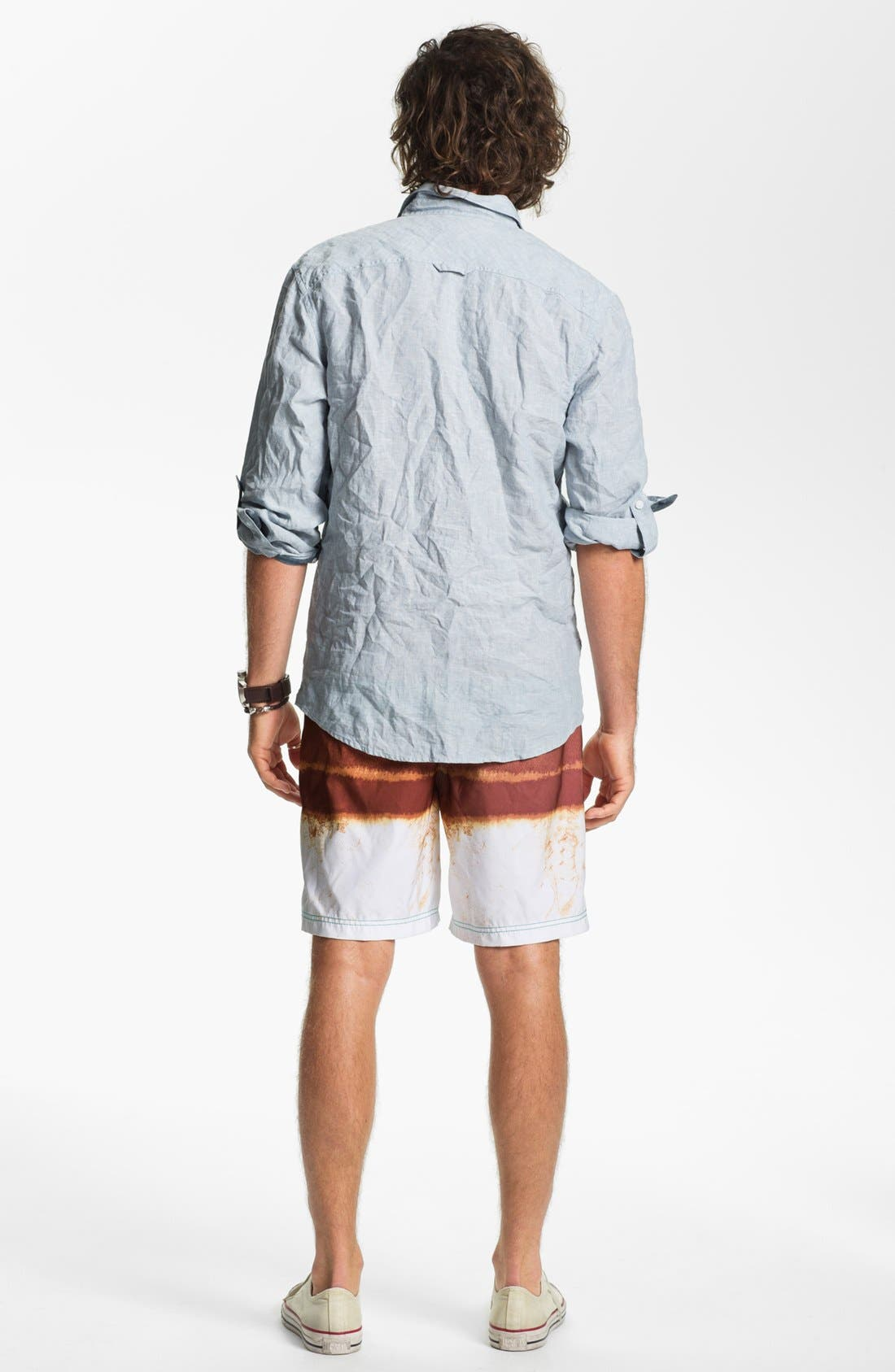 Alternate Image 5  - Insight 'Le Blur' Volley Swim Trunks