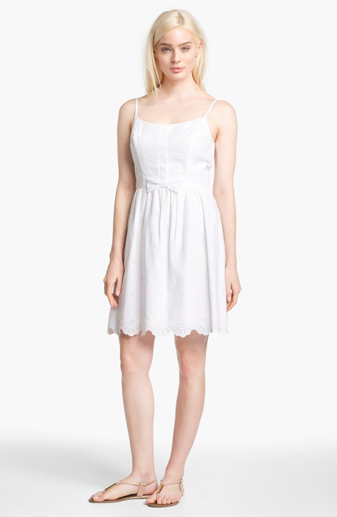 Alternate Image 1 Selected - Lilly Pulitzer® 'Antonia' Cotton Eyelet Dress