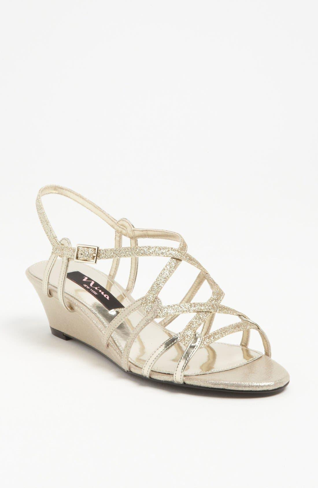 Alternate Image 1 Selected - Nina 'Foley' Wedge Sandal