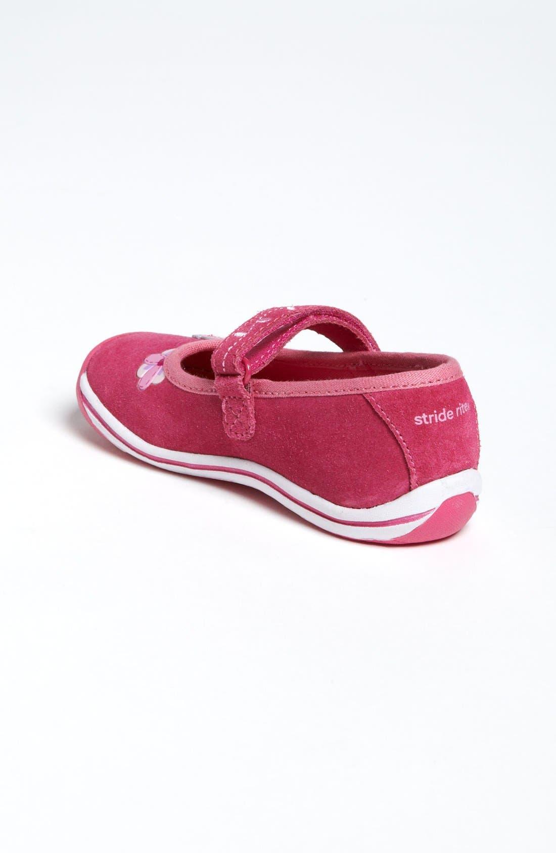 Alternate Image 2  - Stride Rite 'Jessie' Mary Jane Sneaker (Baby, Walker & Toddler)