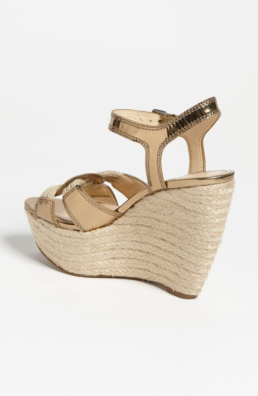 Alternate Image 2  - Vera Wang Footwear 'Tamarind' Wedge Sandal (Online Only)