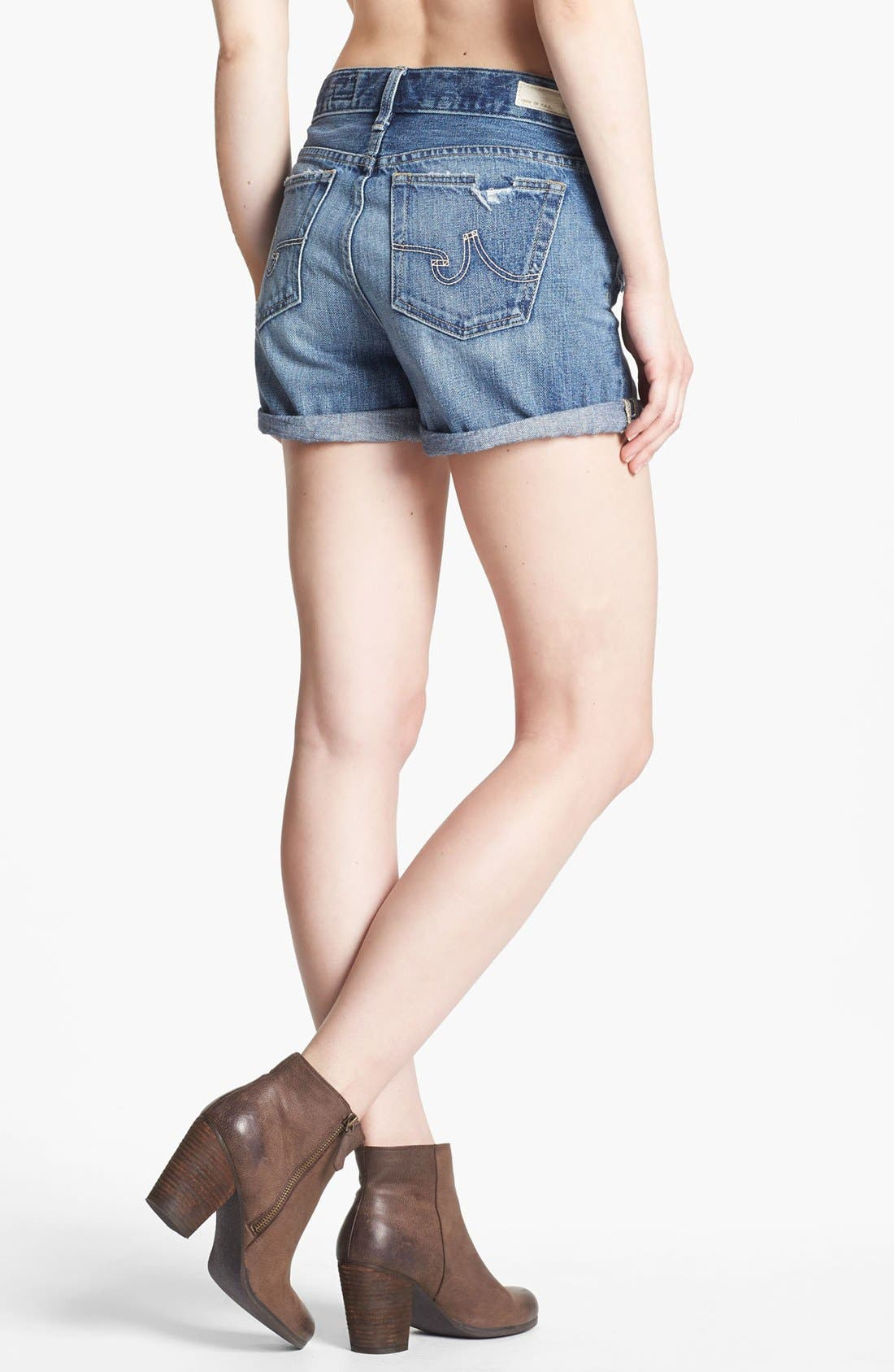 Alternate Image 2  - AG Jeans 'Hailey' Cuff Denim Shorts (15 Year Wash)