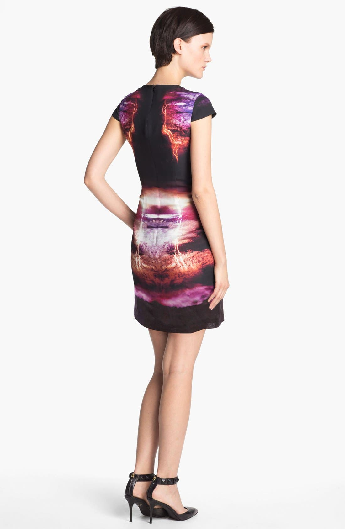 Alternate Image 2  - McQ by Alexander McQueen Lightning Print Dress