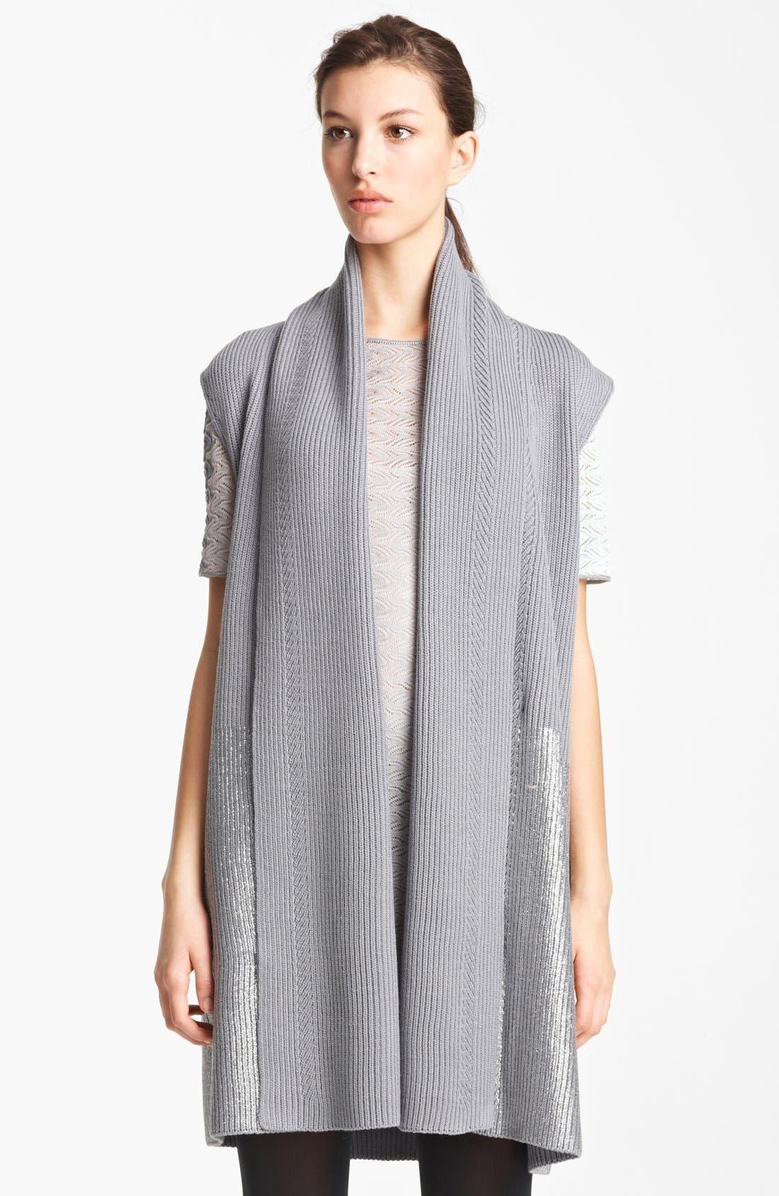 Alternate Image 1 Selected - Missoni Long Wool Vest