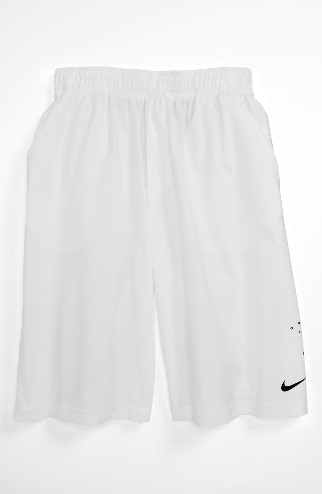 Alternate Image 1 Selected - Nike 'OZ Open Run' Shorts (Big Boys)
