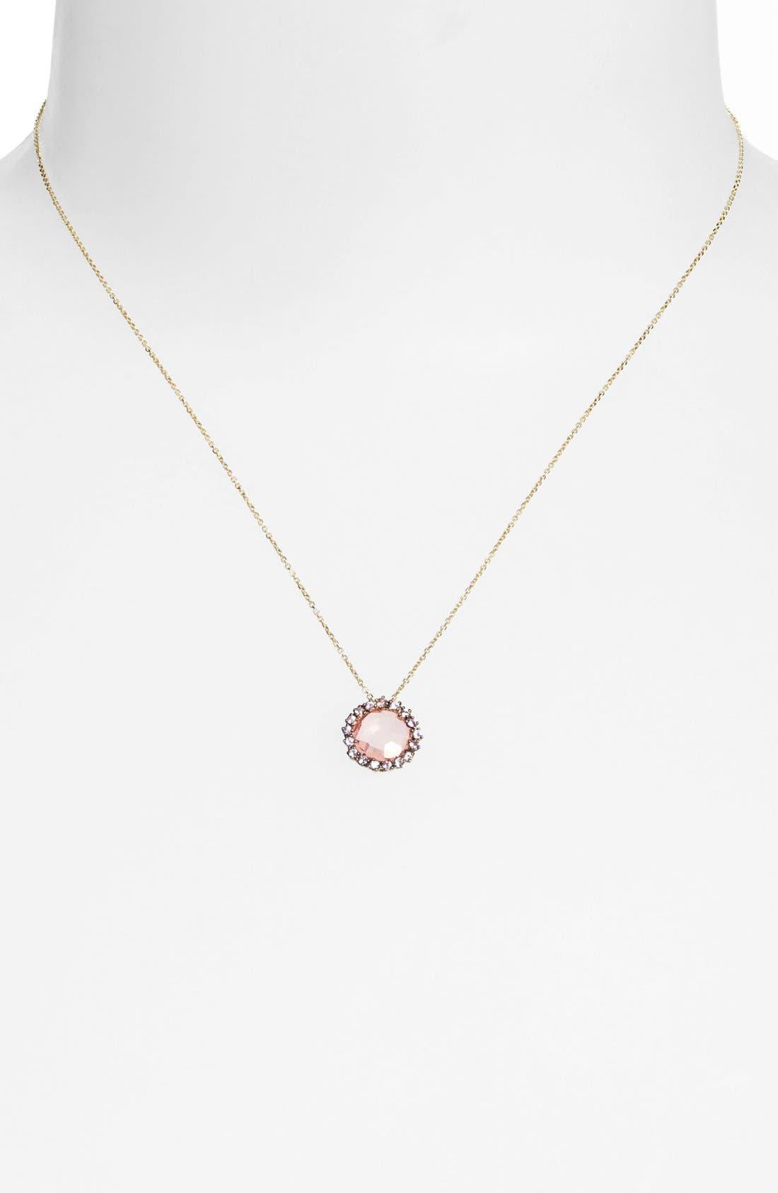 Alternate Image 1 Selected - KALAN by Suzanne Kalan Round Stone Pendant Necklace