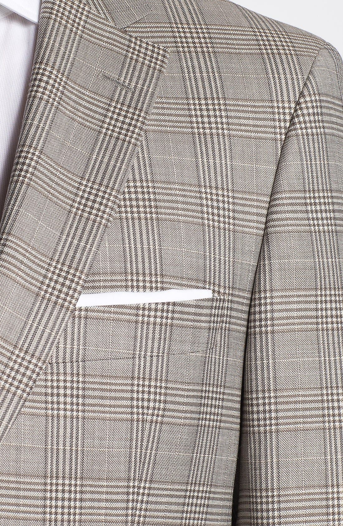 Alternate Image 2  - BOSS HUGO BOSS 'Pasini' Glen Plaid Sportcoat
