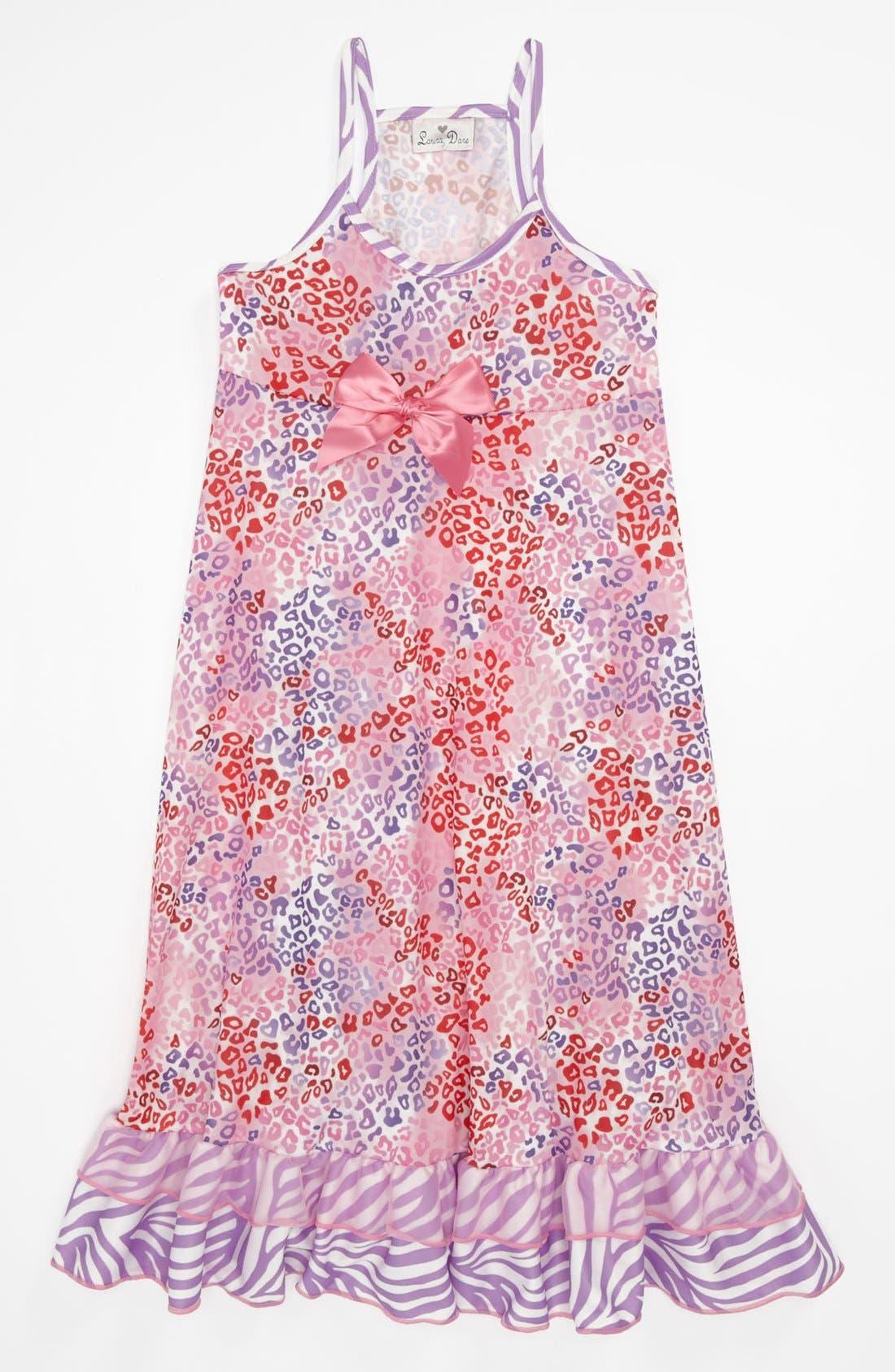 Alternate Image 1 Selected - Laura Dare 'Dream Daze' Nightgown (Little Girls & Big Girls)