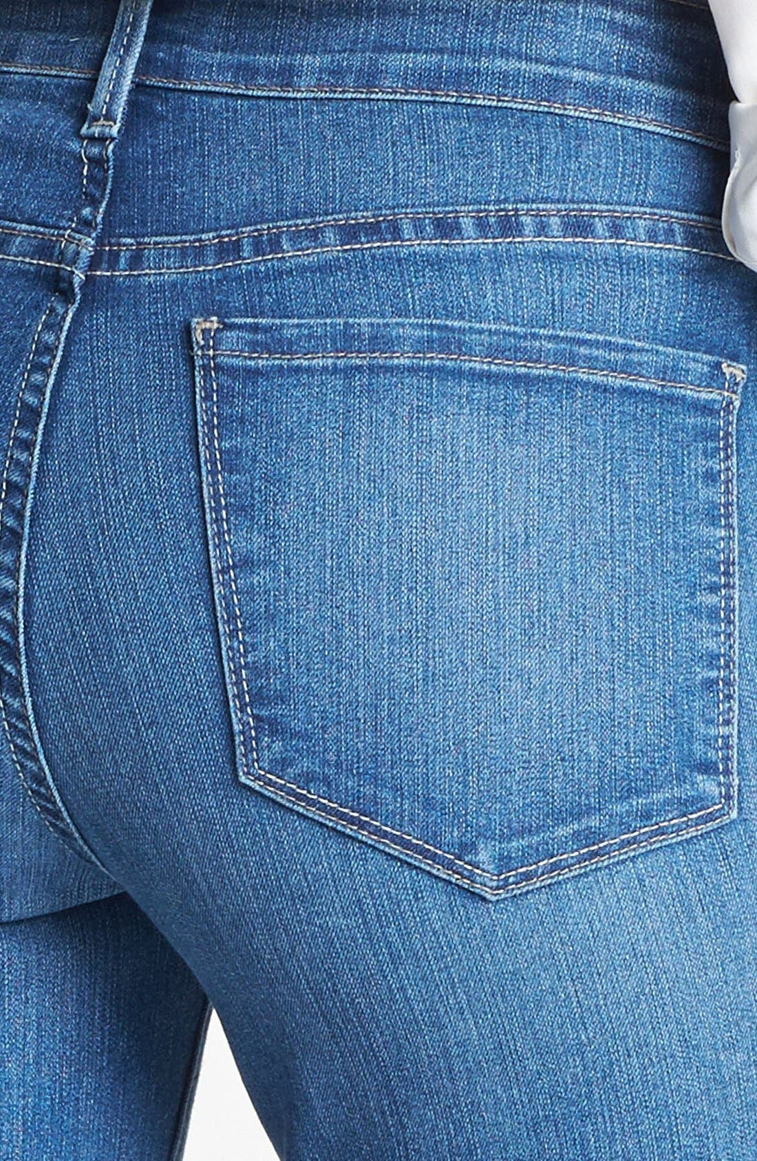 Alternate Image 3  - NYDJ 'Tanya' Cuffed Stretch Boyfriend Jeans