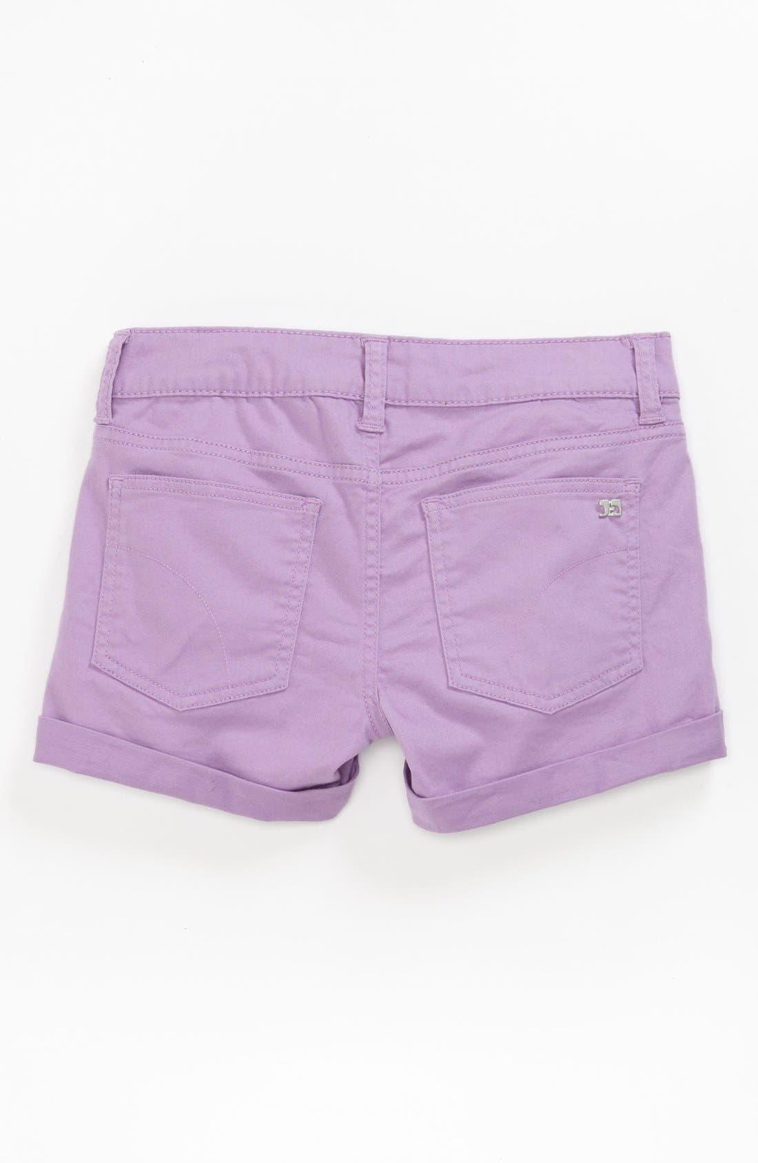 Alternate Image 1 Selected - Joe's Roll Cuff Shorts (Little Girls & Big Girls)