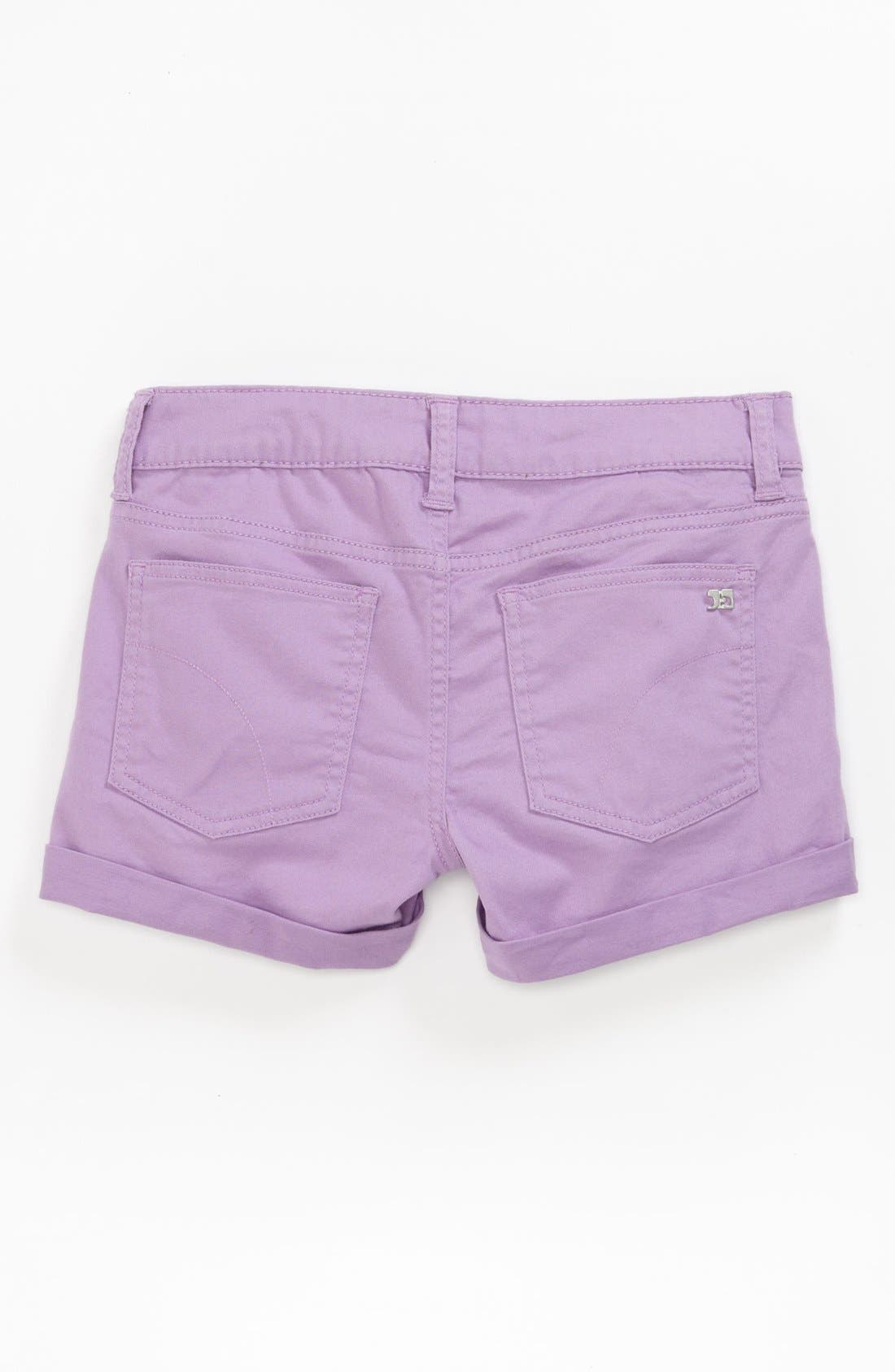 Main Image - Joe's Roll Cuff Shorts (Little Girls & Big Girls)