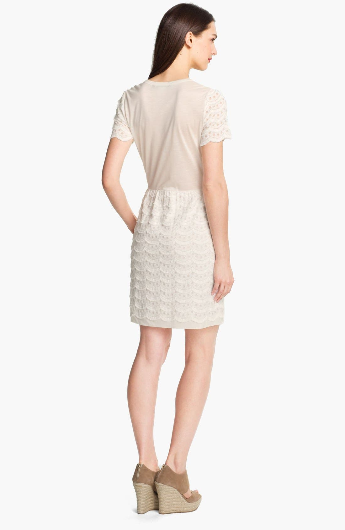 Alternate Image 2  - MARC BY MARC JACOBS Knit Cotton Blend Dress