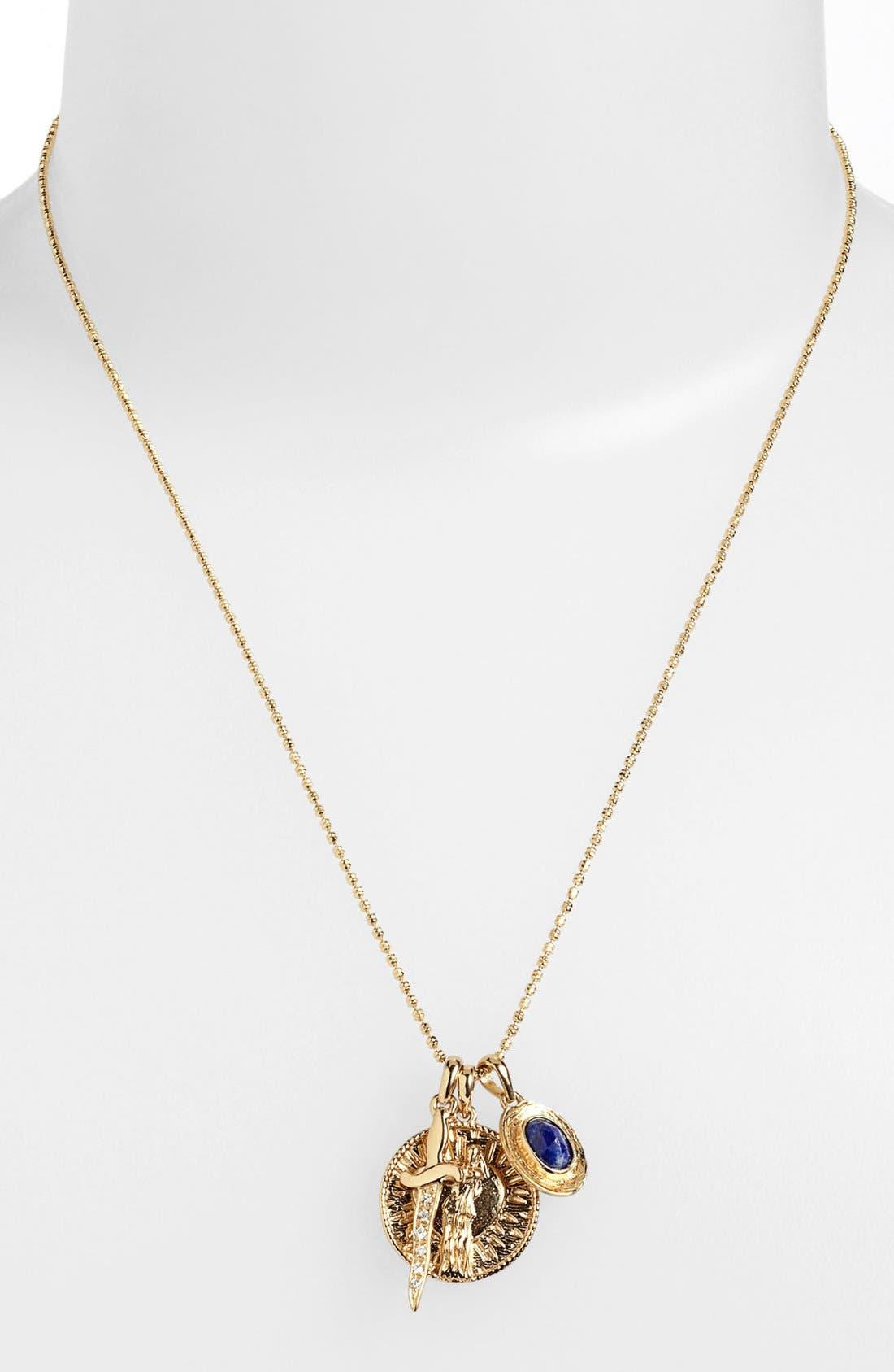 Alternate Image 3  - Melinda Maria 'Goddess of Love' Cluster Pendant Necklace