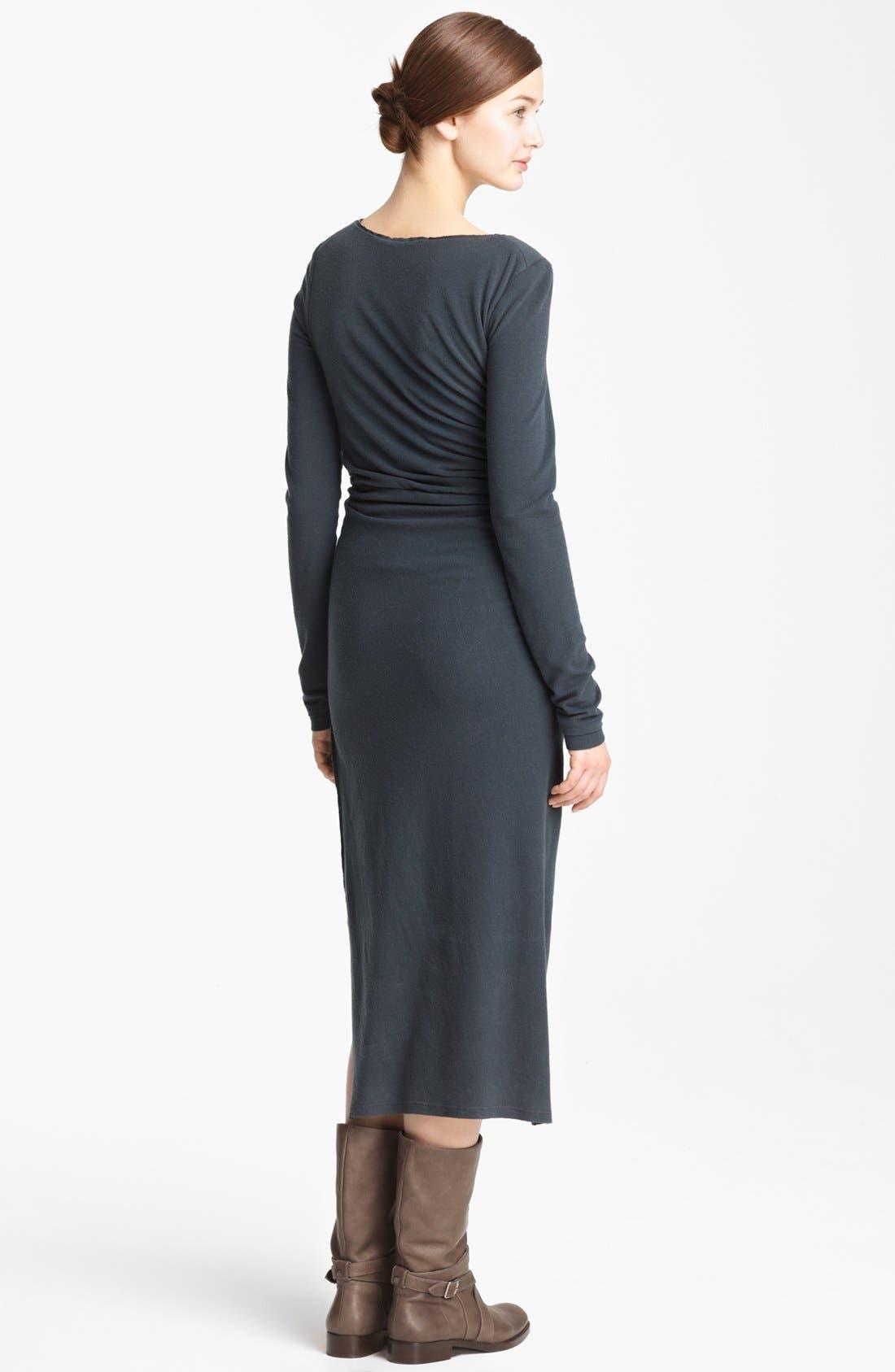 Alternate Image 2  - Donna Karan Collection Cross Draped Knot Dress