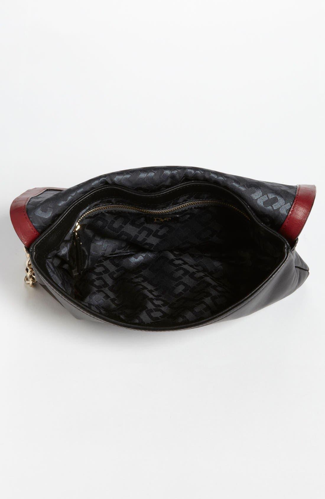 Alternate Image 3  - Diane von Furstenberg 'Harper - Small' Lizard Embossed Envelope Clutch