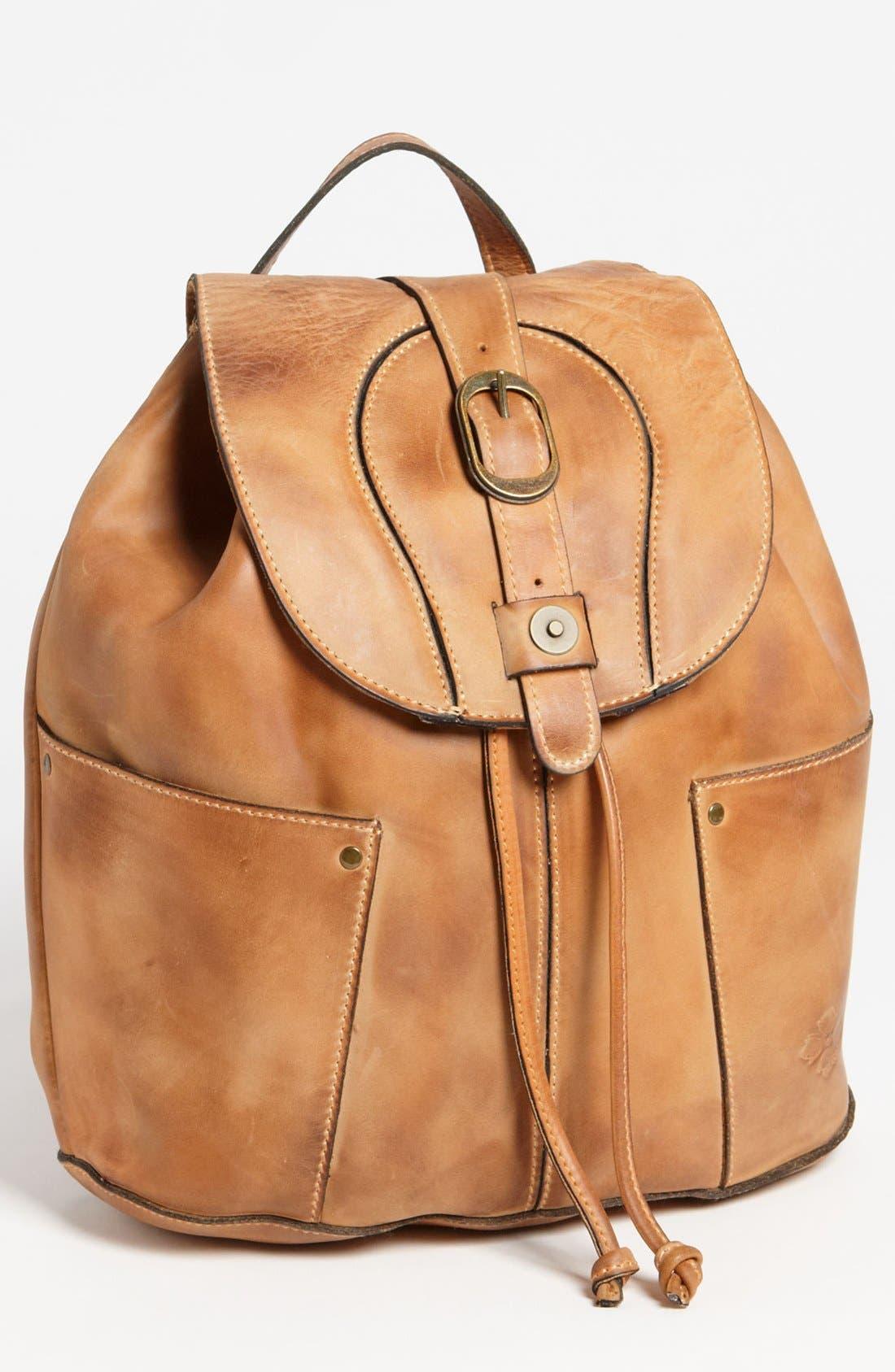 Main Image - Patricia Nash 'Vasto' Leather Backpack