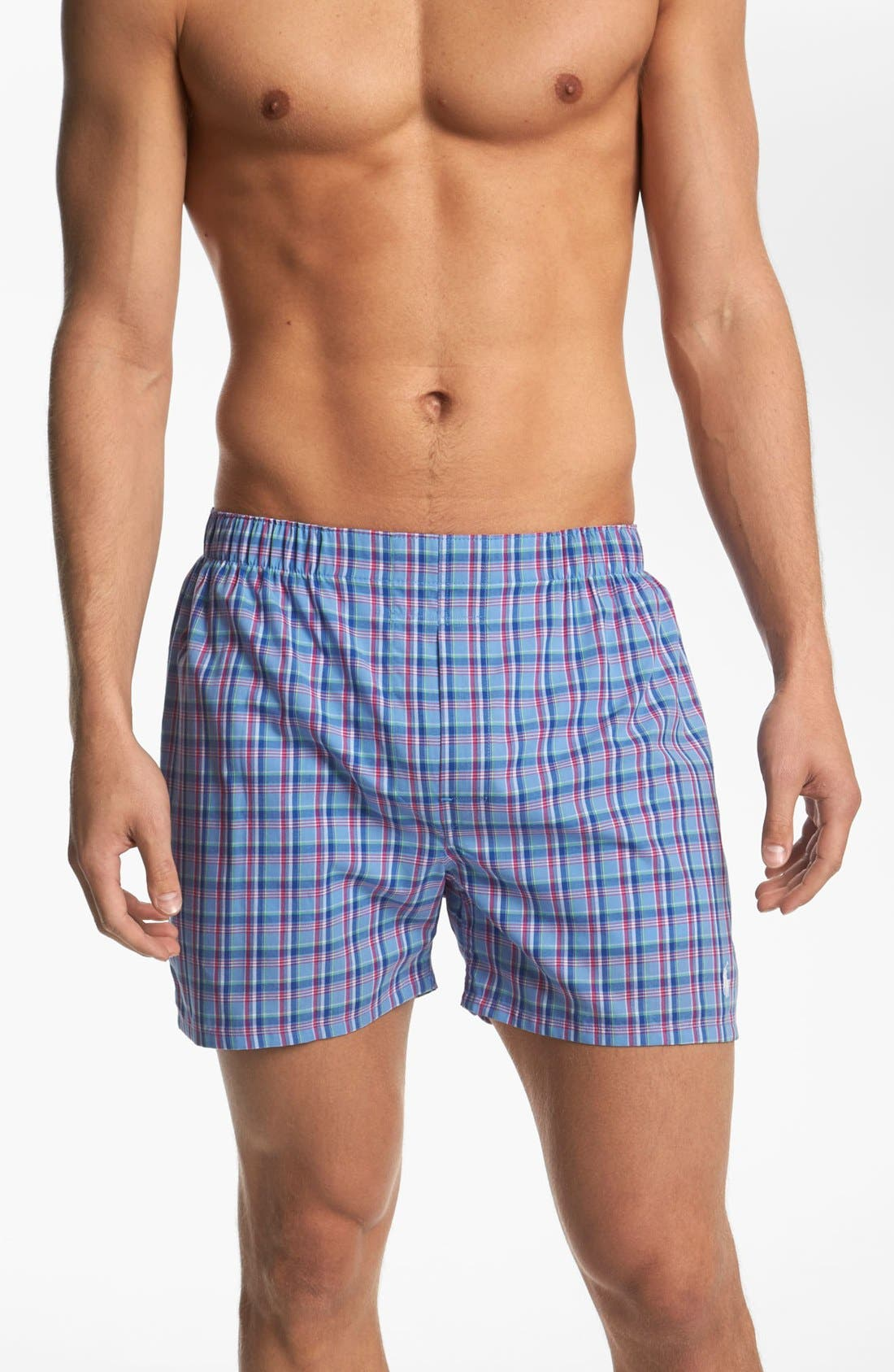 Main Image - Polo Ralph Lauren Woven Boxers (Assorted 3-Pack)