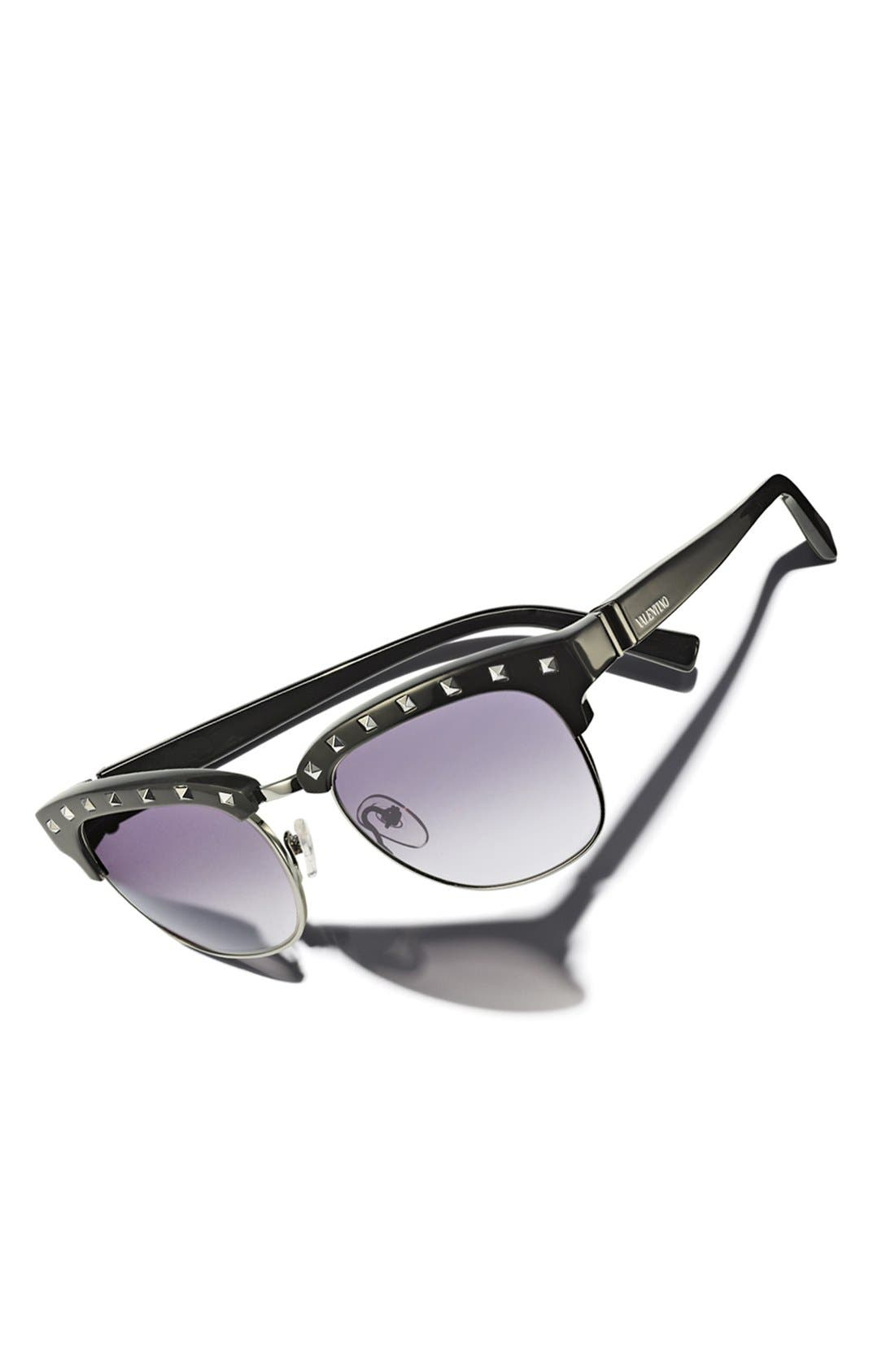 Alternate Image 3  - Valentino 'Rockstud' Sunglasses (Online Only)