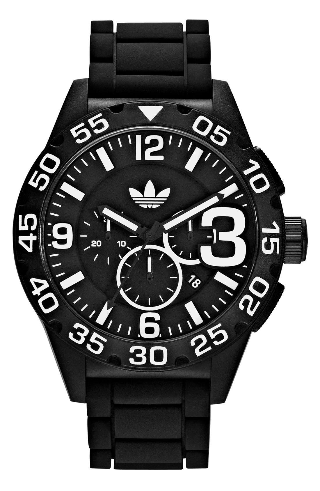 Main Image - adidas Originals 'Newburgh' Chronograph Watch, 48mm