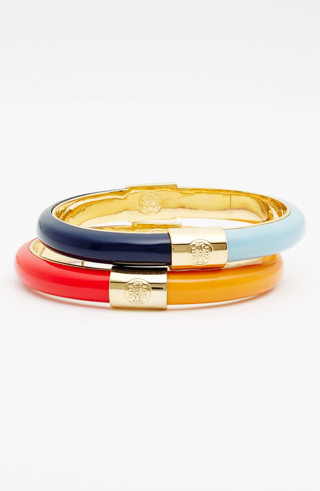 Alternate Image 1 Selected - Tory Burch Two Tone Bangle