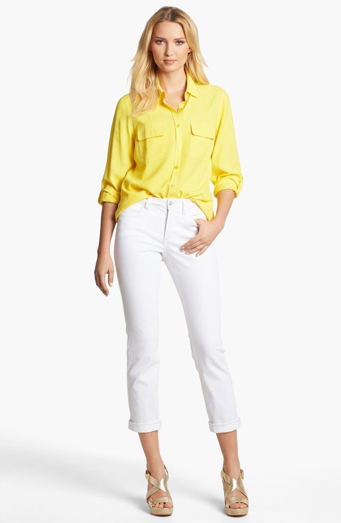 Alternate Image 2  - NYDJ 'Tanya' Stretch Boyfriend Jeans