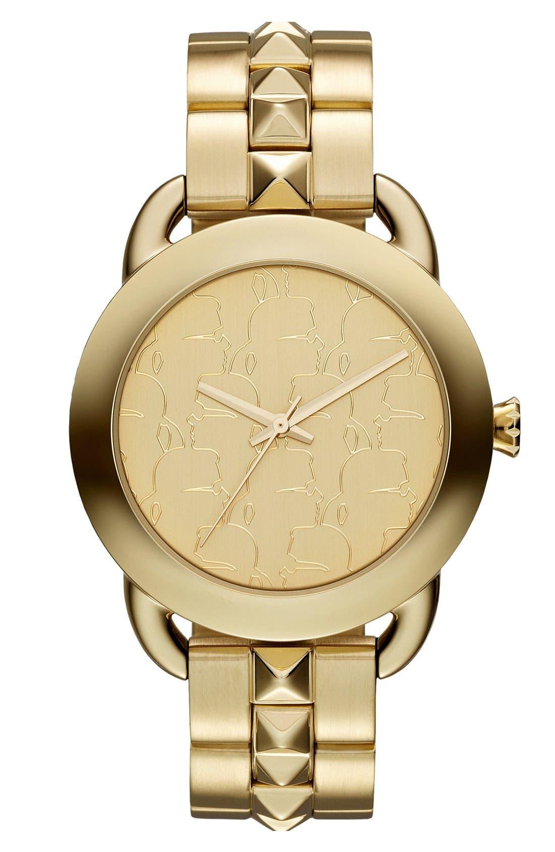 Main Image - KARL LAGERFELD 'Pop' Bracelet Watch, 40mm