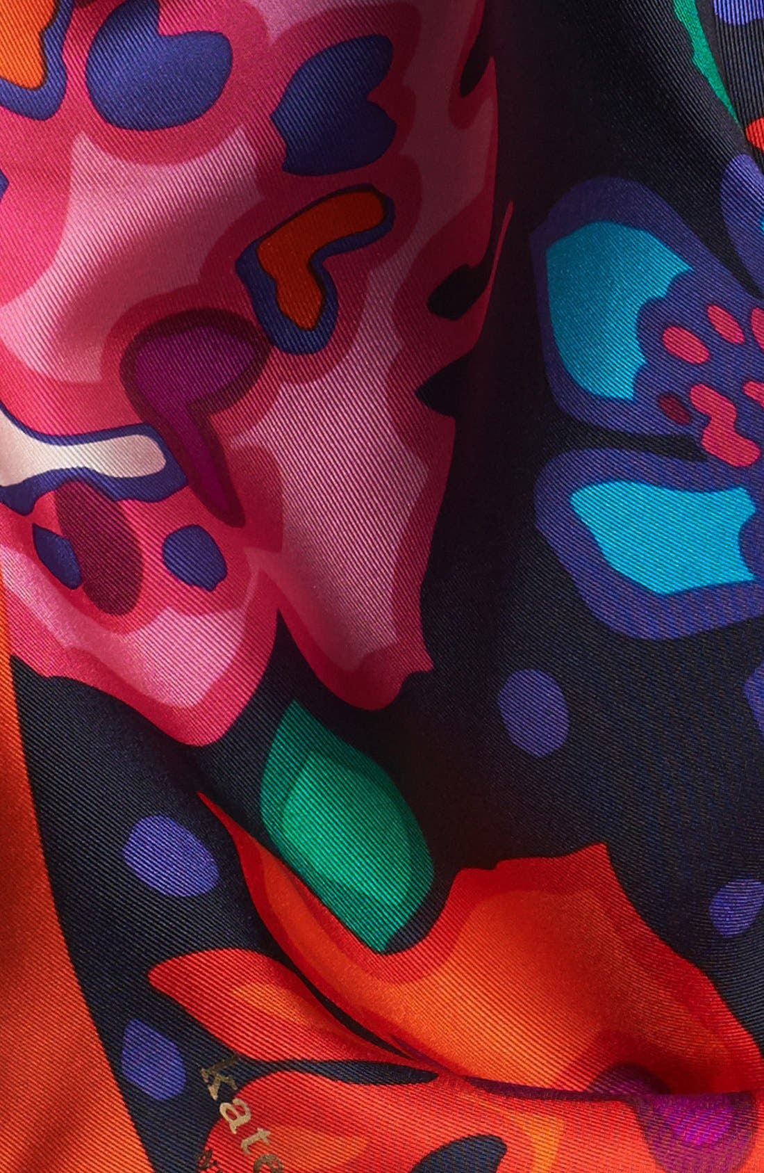 Alternate Image 2  - kate spade new york 'mexican floral' silk scarf