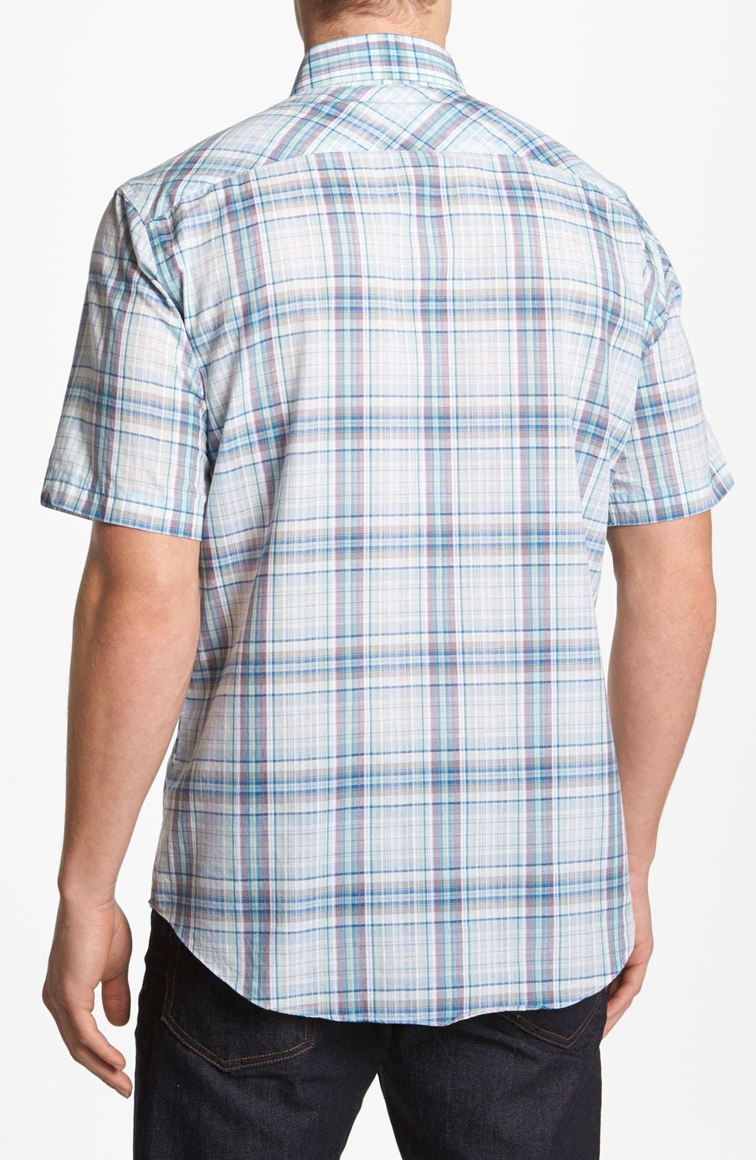 Alternate Image 2  - Zachary Prell 'Soffer' Short Sleeve Sport Shirt