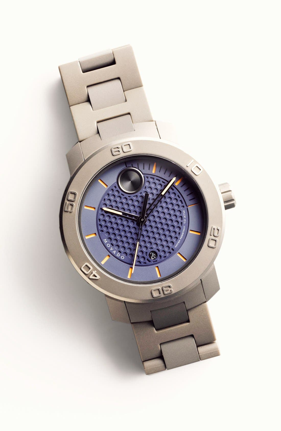 Alternate Image 3  - Movado 'Bold' Bracelet Watch, 46mm