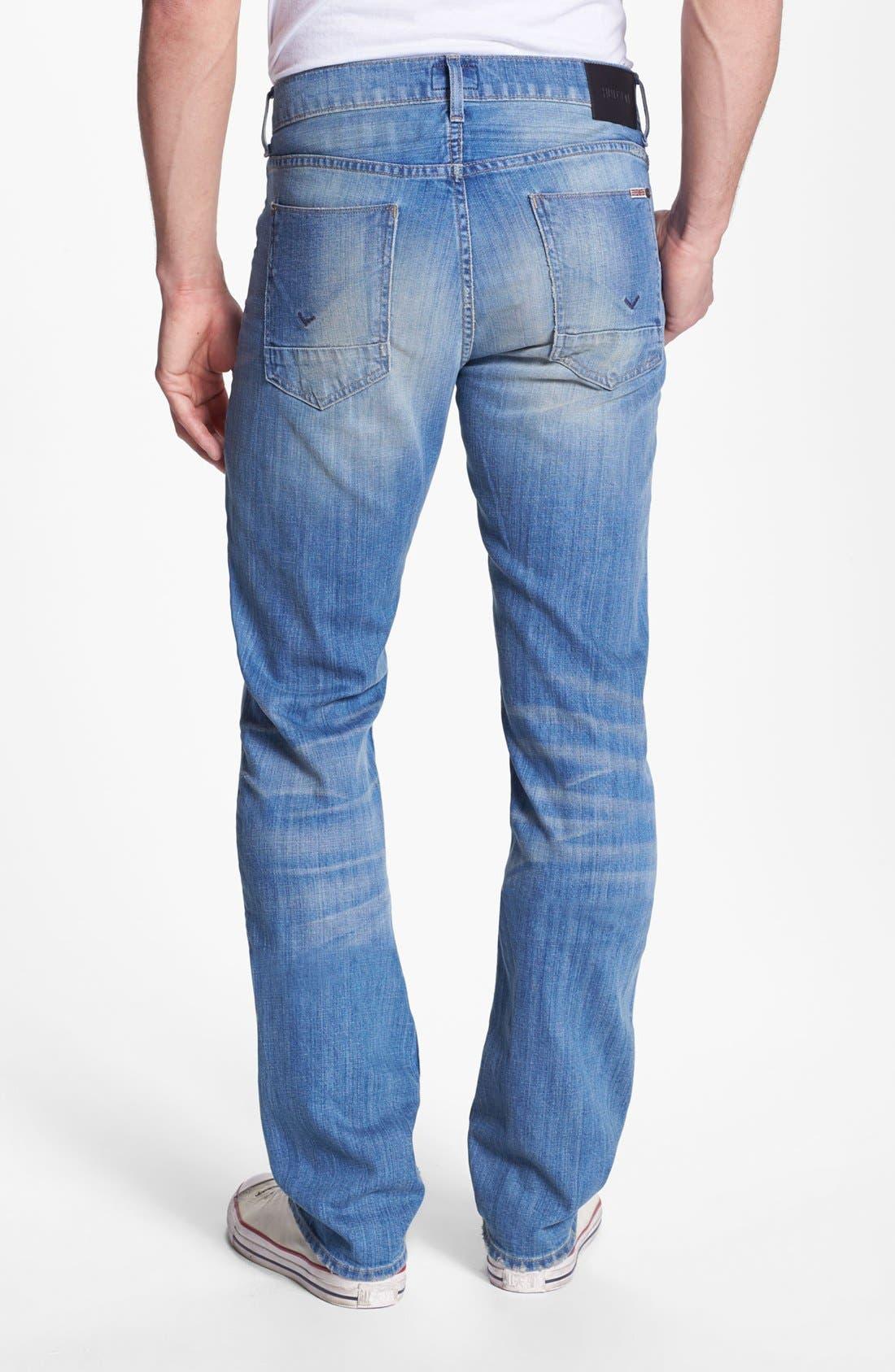 Alternate Image 1 Selected - Hudson Jeans 'Byron' Straight Leg Jeans (Prague)