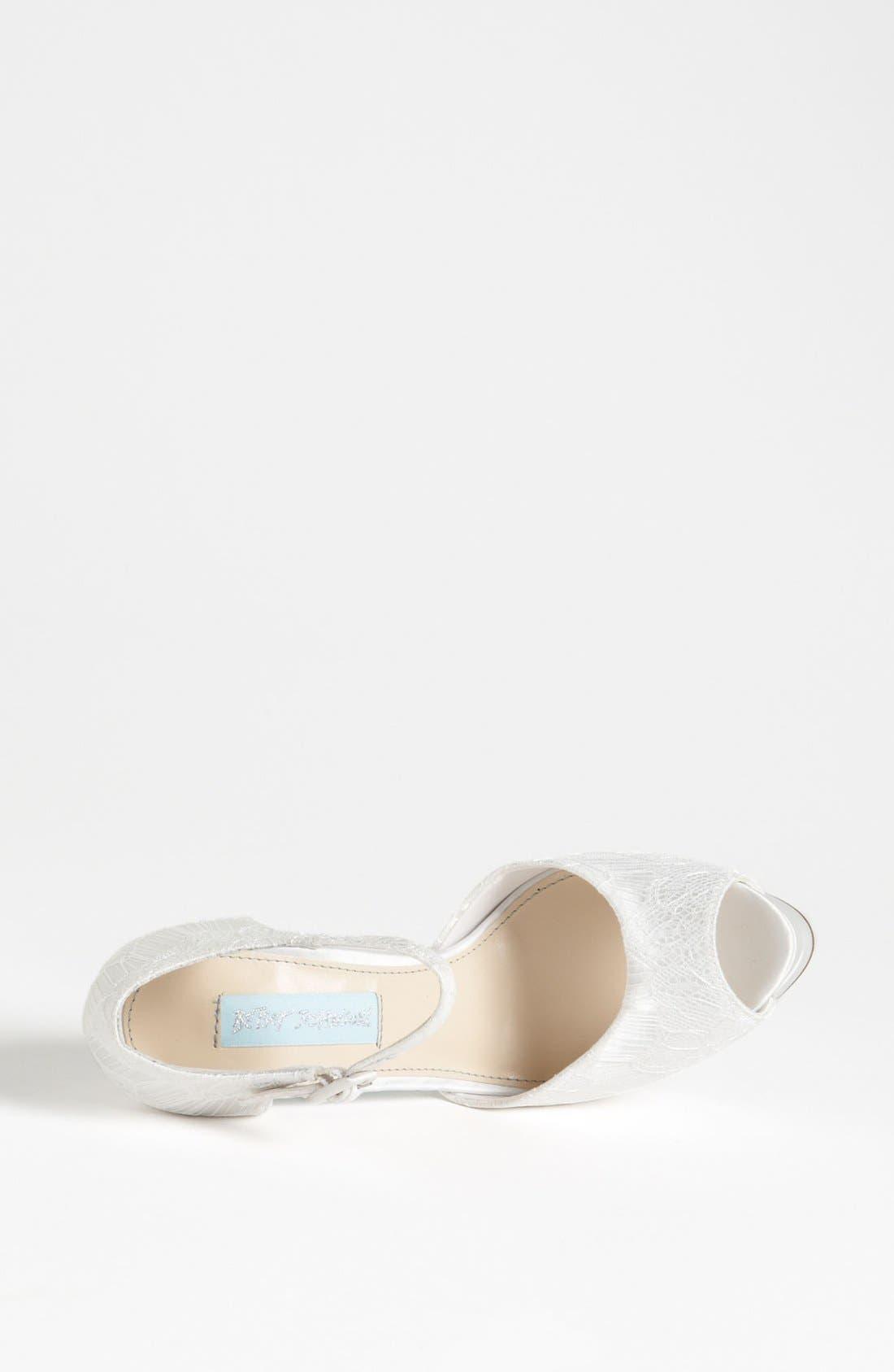 Alternate Image 3  - Blue by Betsey Johnson 'Veil' Sandal