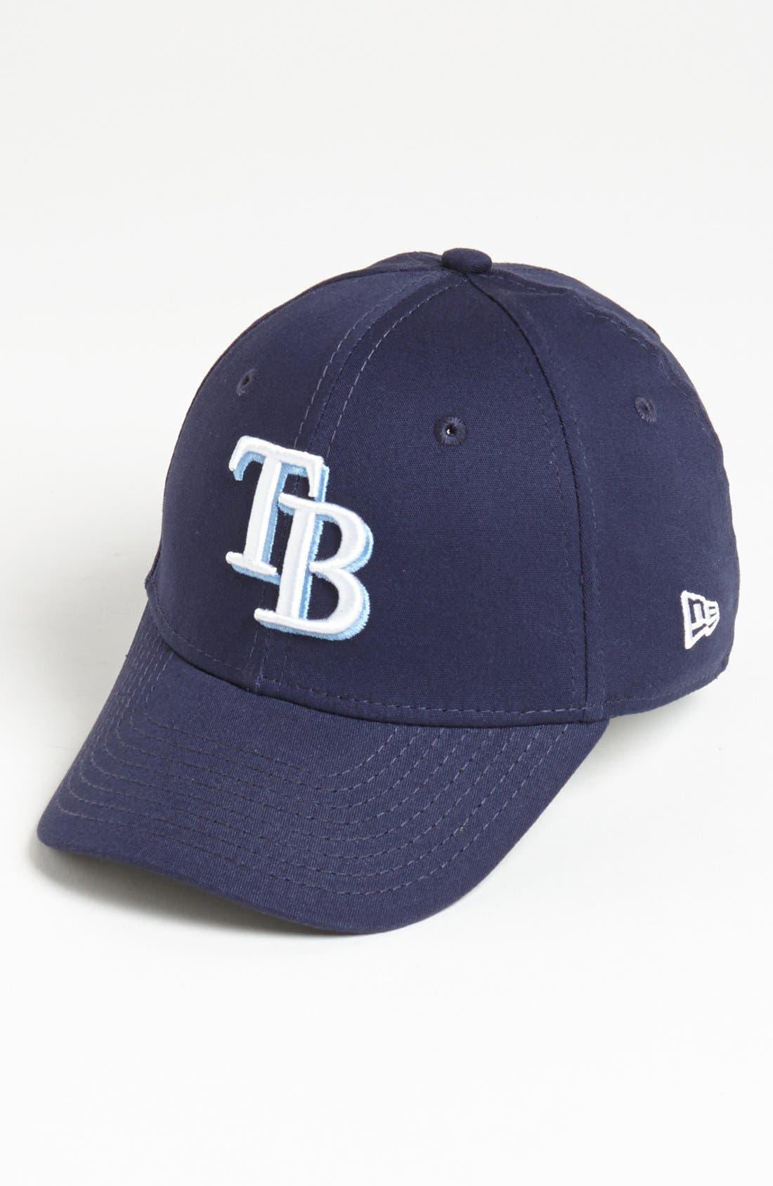 'Tampa Bay Rays - Tie Breaker' Baseball Cap,                         Main,                         color, Dark Blue