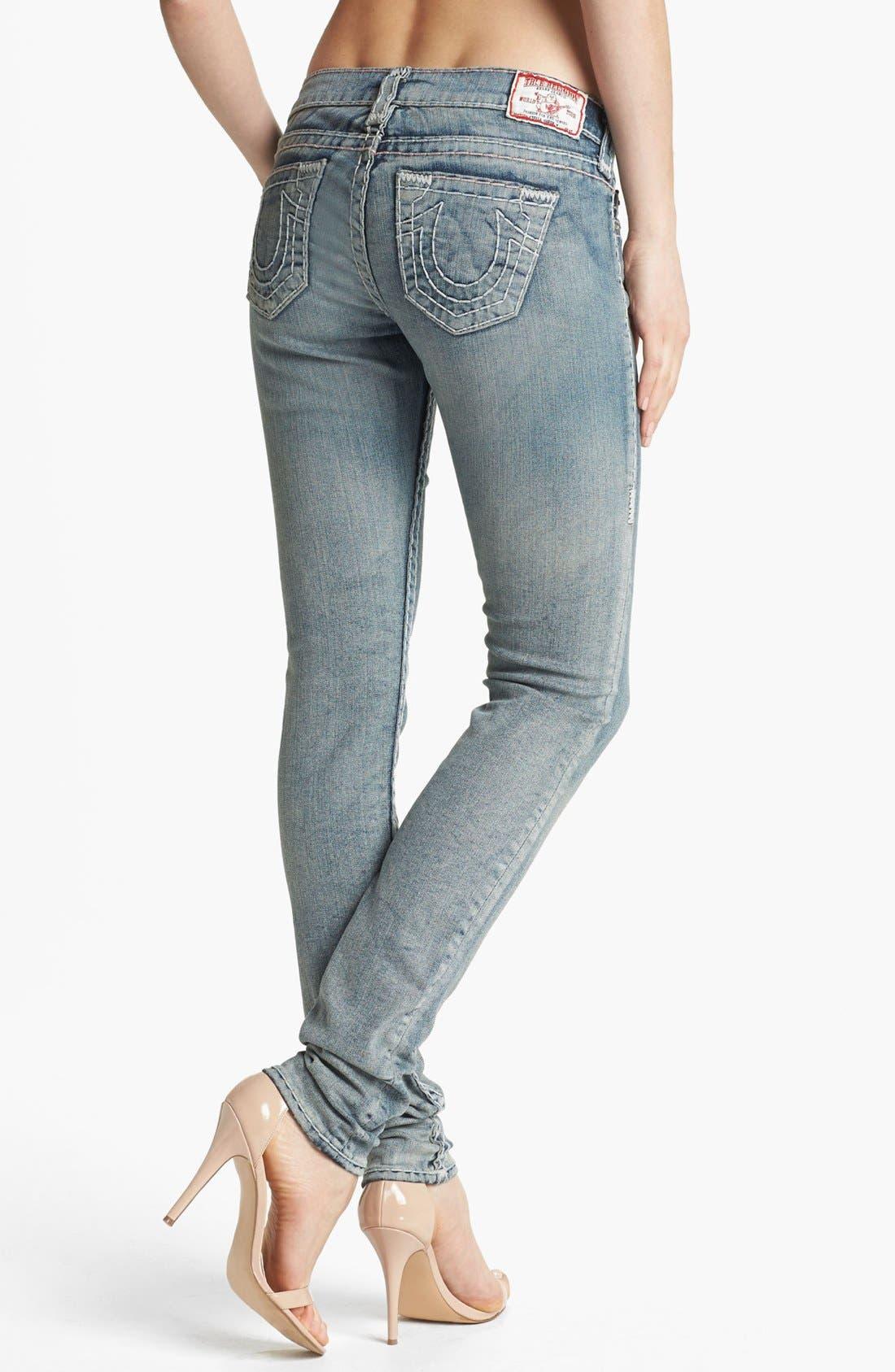 Alternate Image 2  - True Religion Brand Jeans 'Stella Super T' Skinny Jeans (Tail Driver)