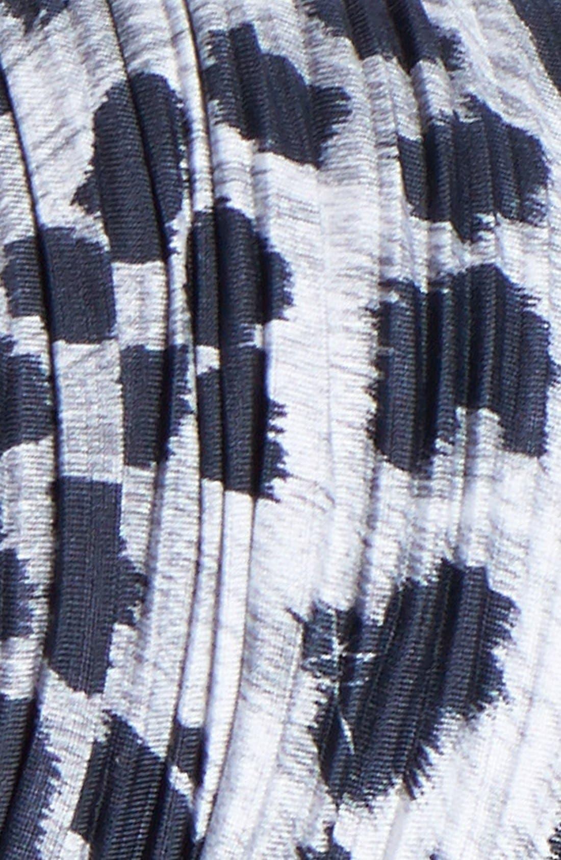 Alternate Image 2  - Cara Pleated Leopard Print Head Wrap
