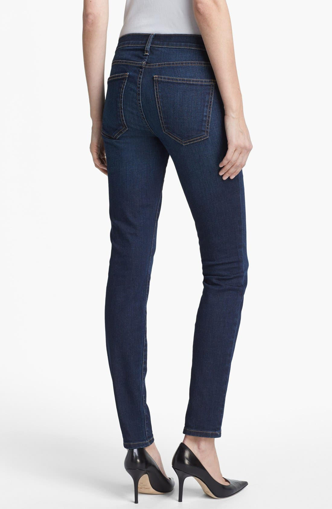 Alternate Image 3  - Current/Elliott 'The Ankle' Skinny Jeans (Nordstrom Exclusive)