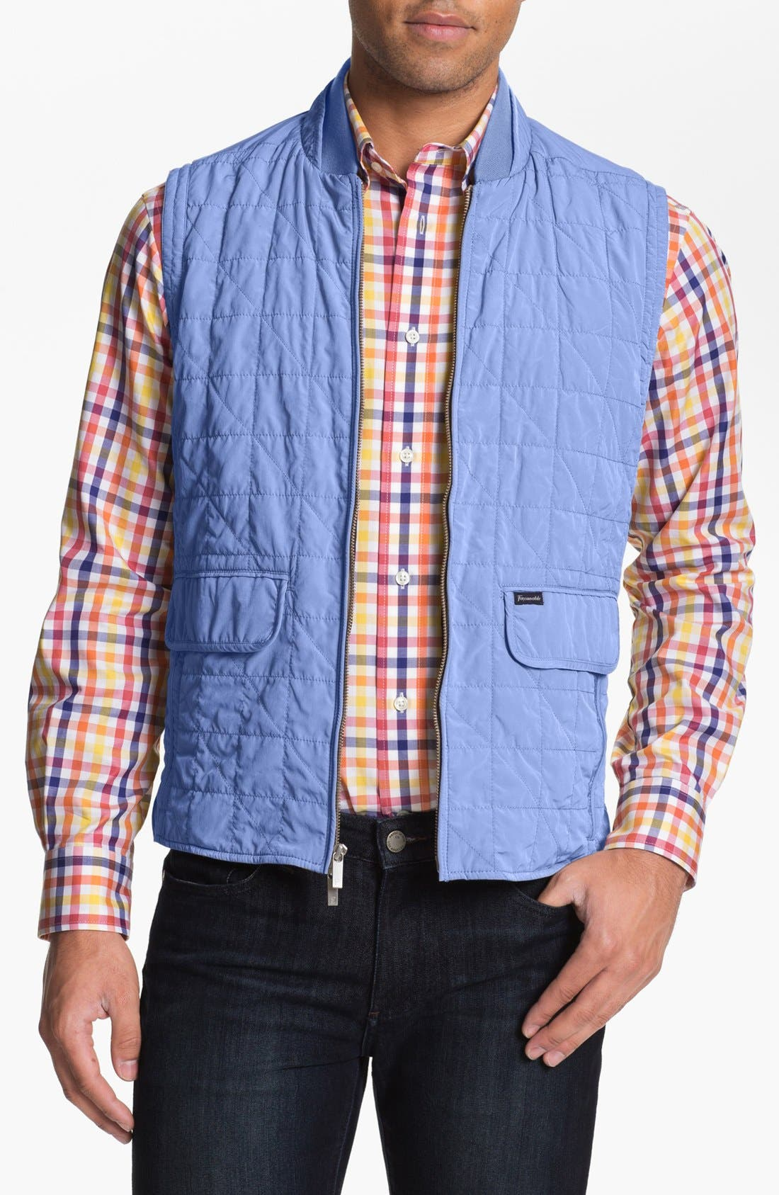 Main Image - Façonnable 'Gilet' Quilted Vest