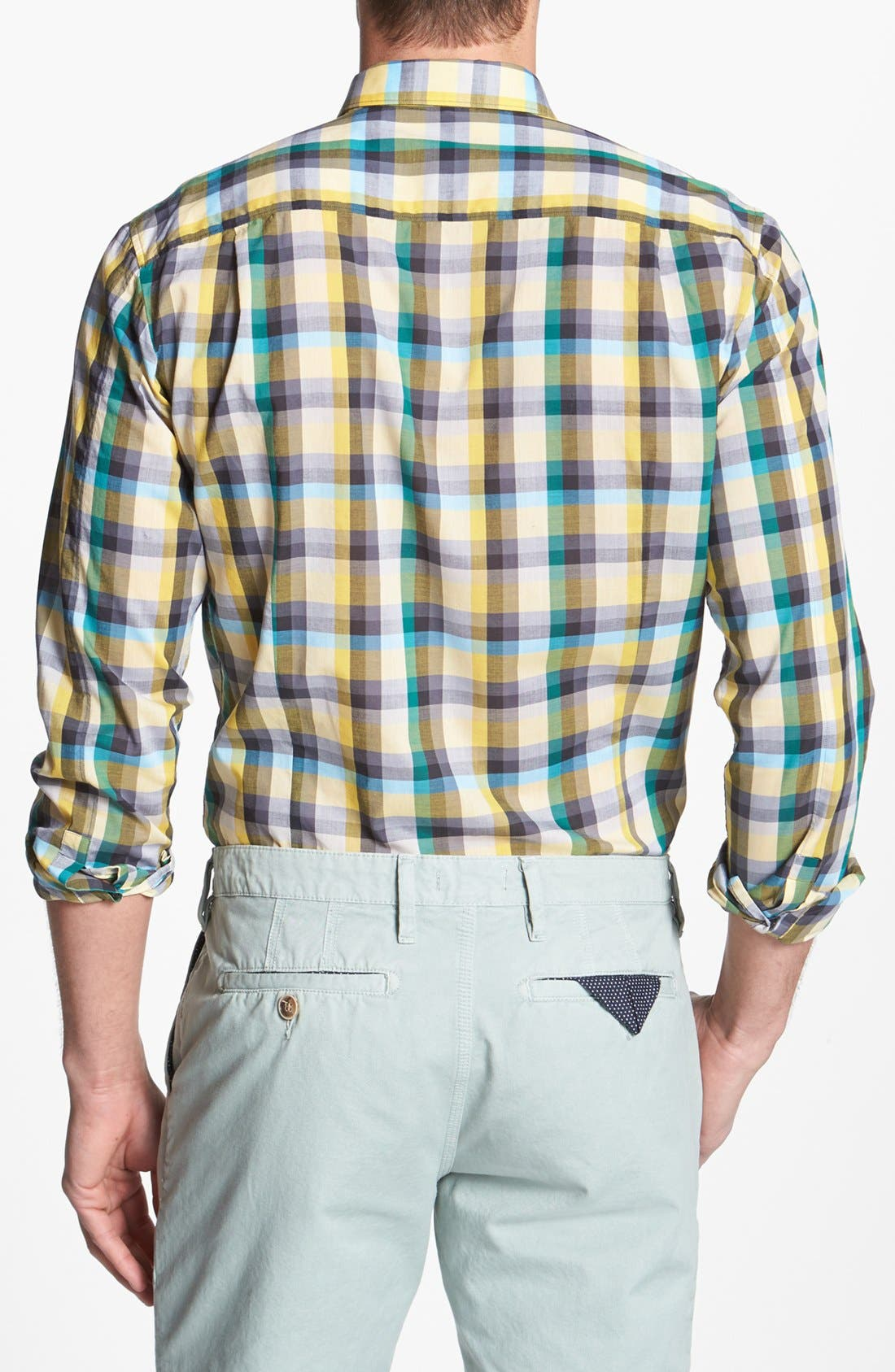 Alternate Image 2  - HUGO Trim Fit Sport Shirt