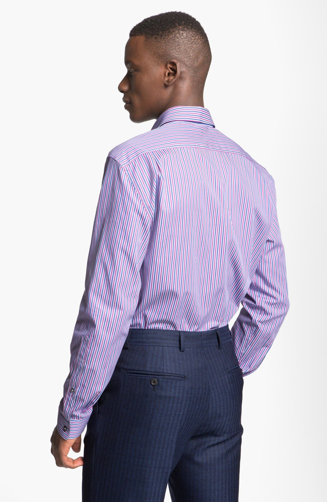 Alternate Image 2  - Paul Smith London Slim Fit Multi Stripe Dress Shirt