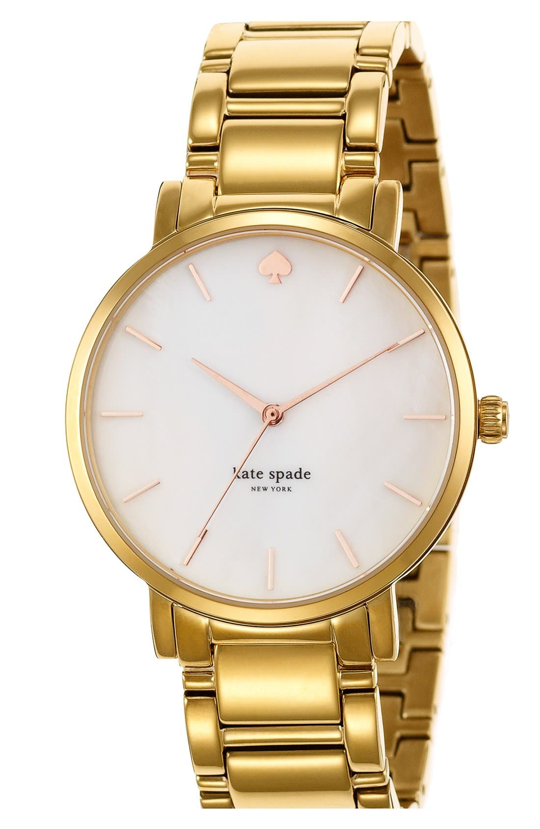 Alternate Image 2  - kate spade new york 'gramercy grand' bracelet watch, 38mm