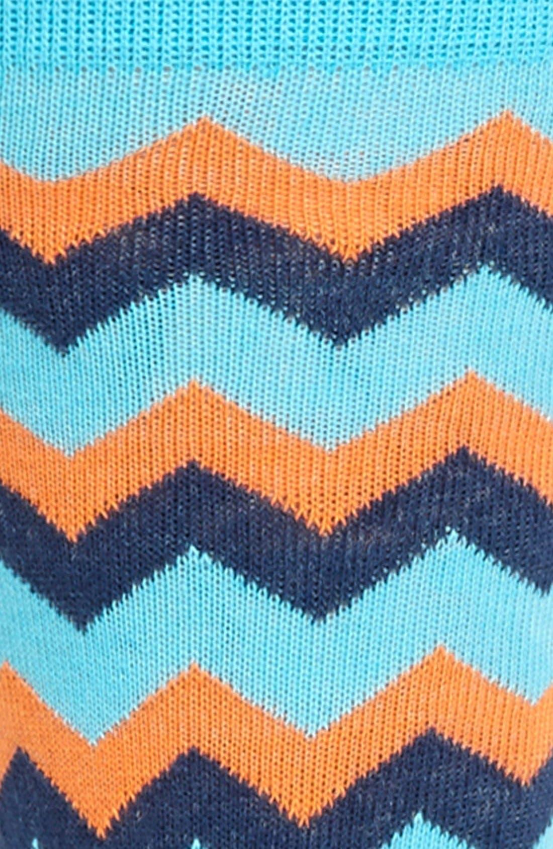 Alternate Image 2  - Lorenzo Uomo Zigzag Socks