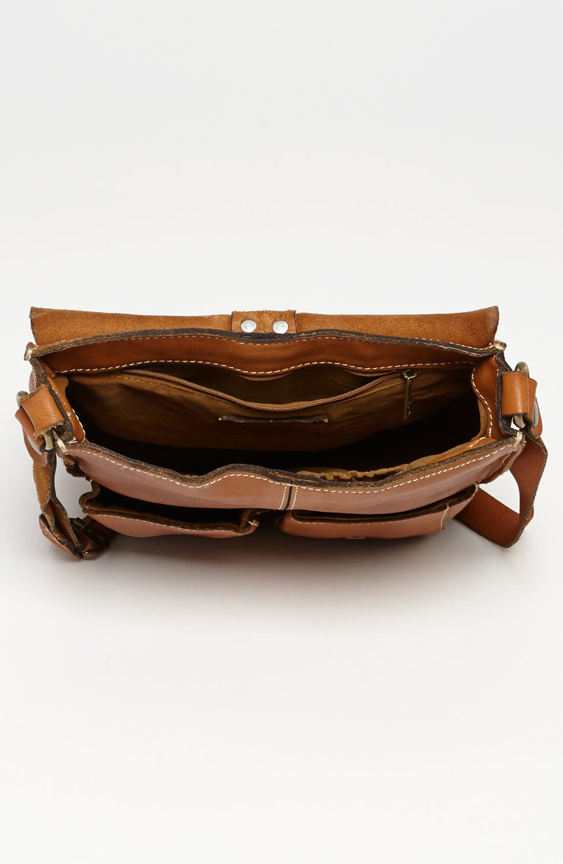 Alternate Image 3  - Patricia Nash 'Armeno' Leather Messenger Bag