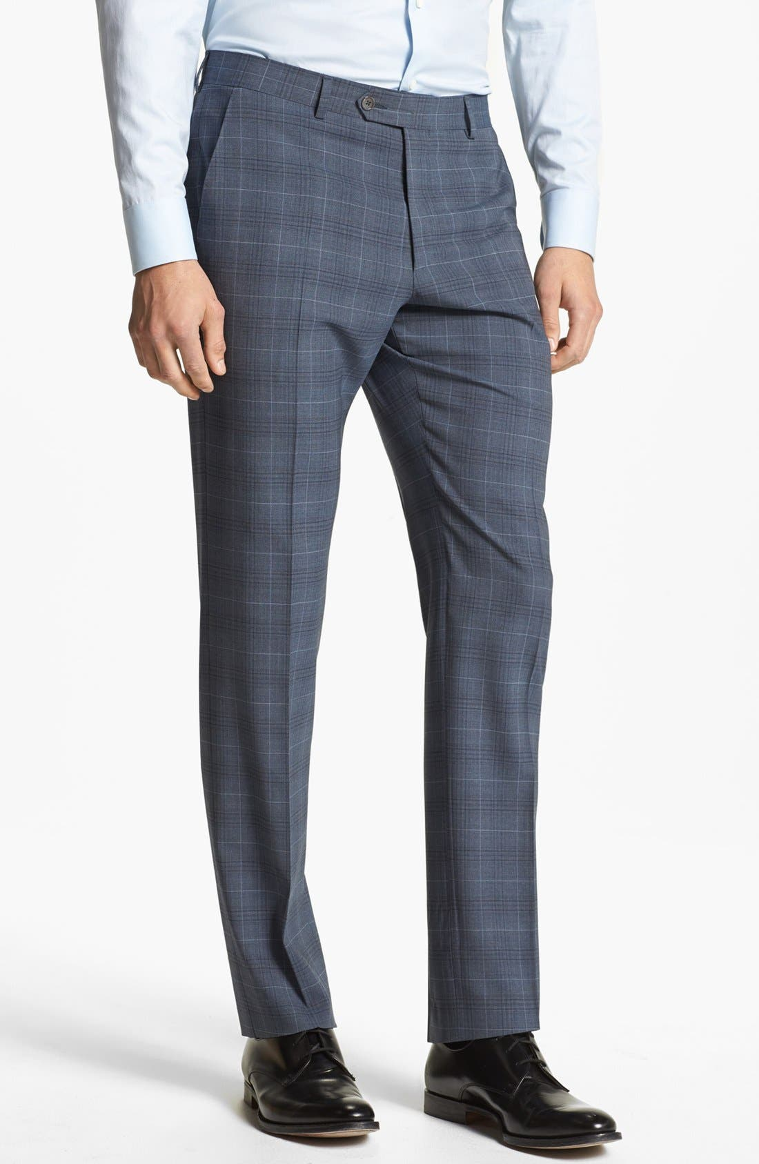 Alternate Image 4  - Paul Smith London Wool Plaid Suit