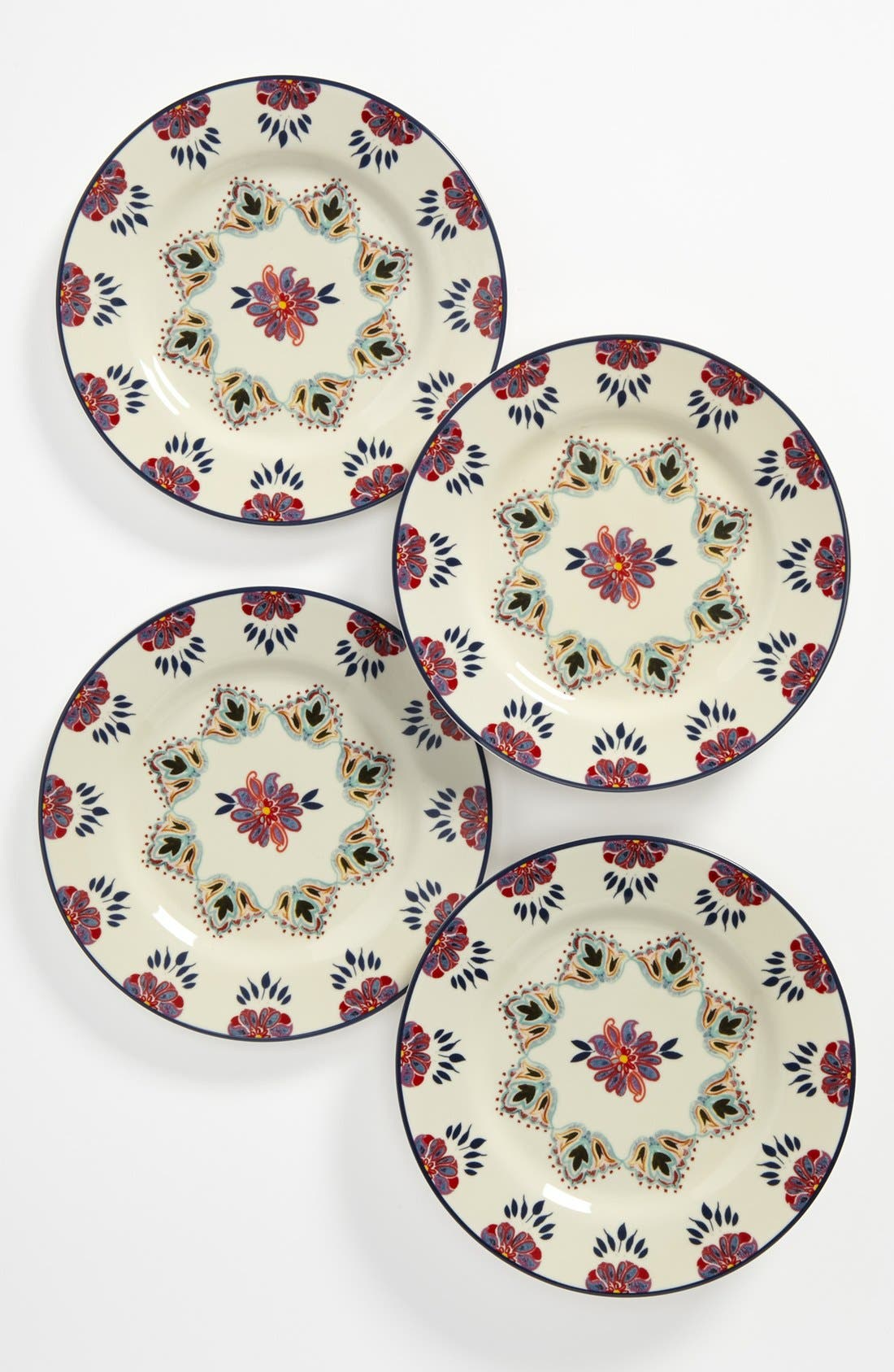 Main Image - Porcelain Salad Plates (Set of 4)