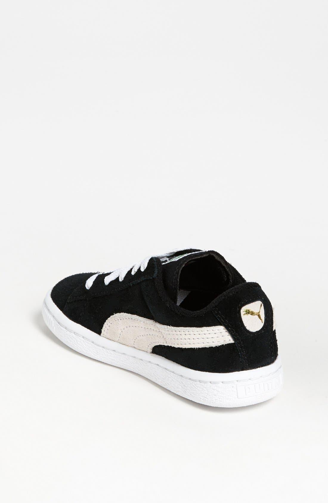 Alternate Image 2  - PUMA Suede Sneaker (Baby, Walker, Toddler, Little Kid & Big Kid)