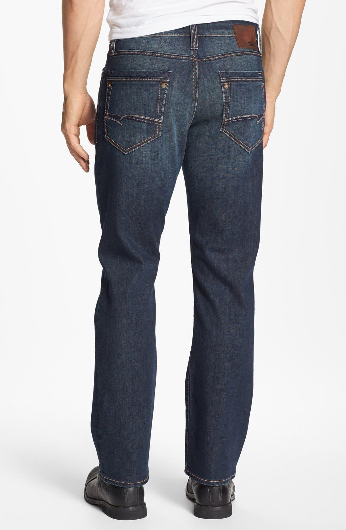Alternate Image 1 Selected - Mavi Jeans 'Matt' Relaxed Jeans (Dark Bilboa)