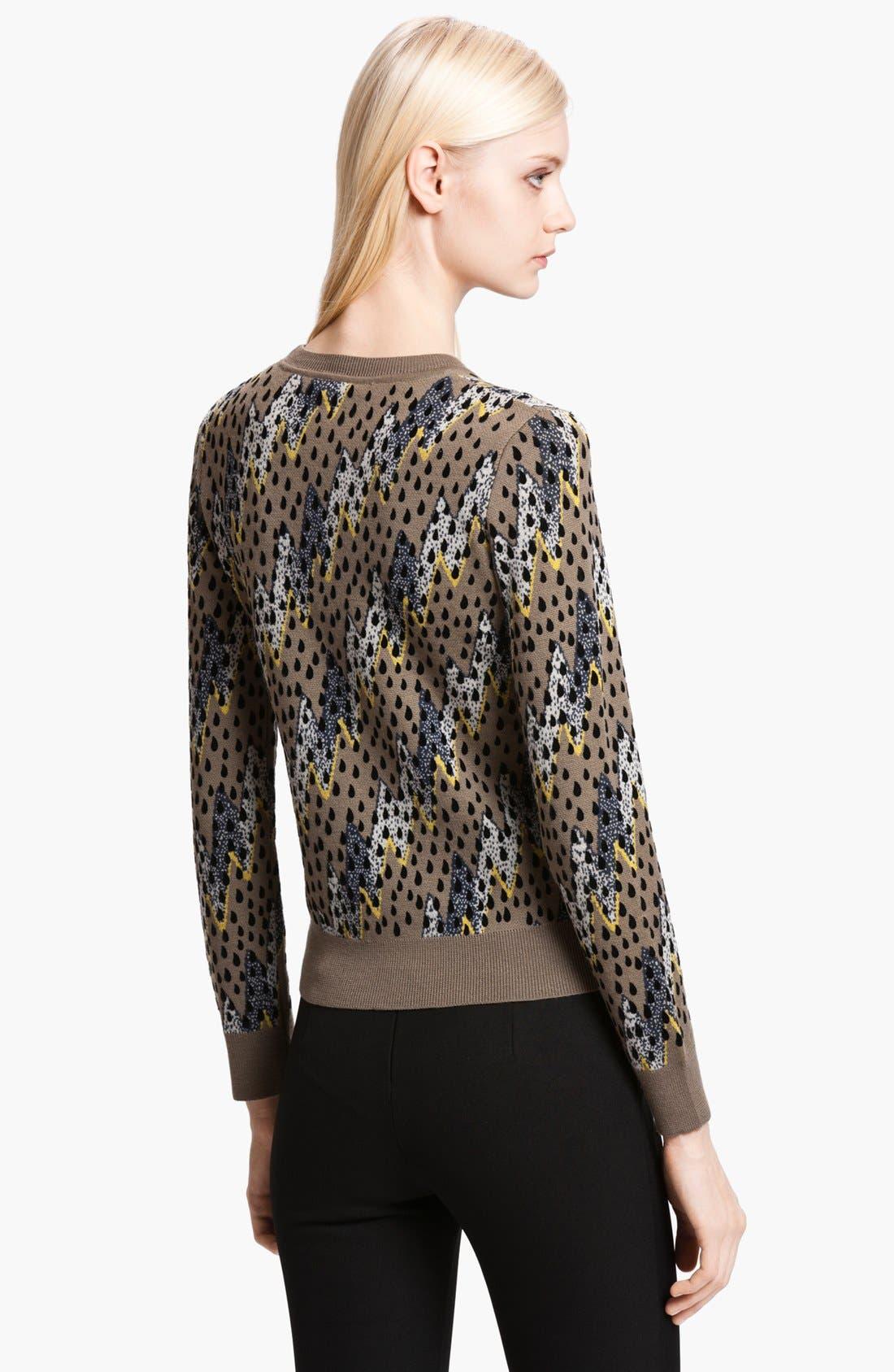 Alternate Image 2  - KENZO 'Lightning Bolt' Jacquard Sweater