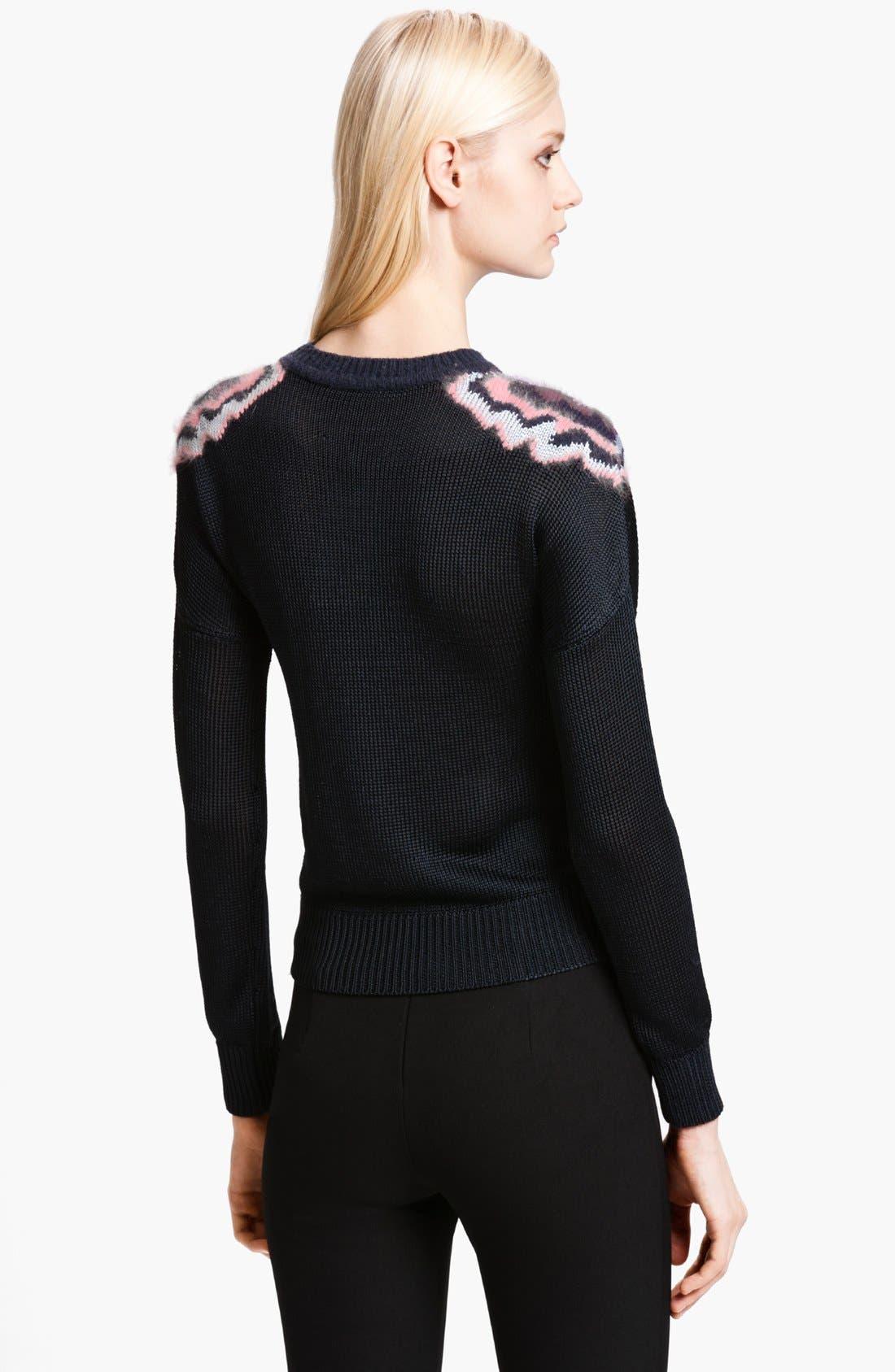 Alternate Image 2  - KENZO Tiger Intarsia Stitch Sweater